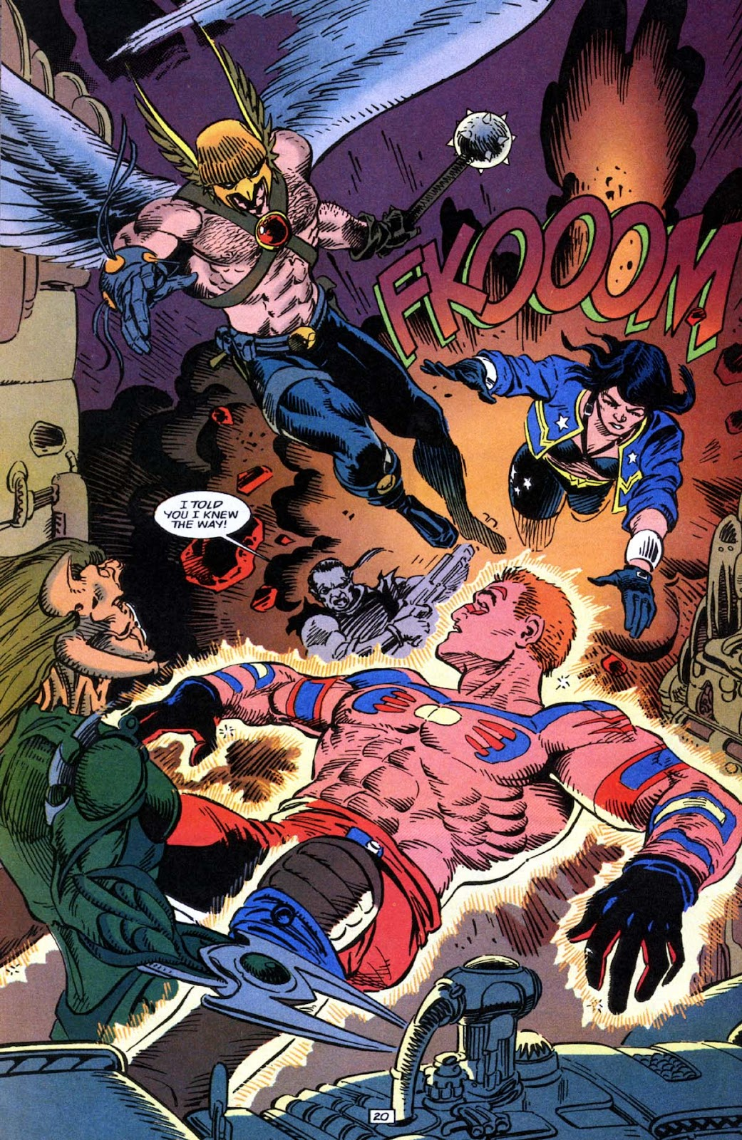 Hawkman (1993) Issue #23 #26 - English 21