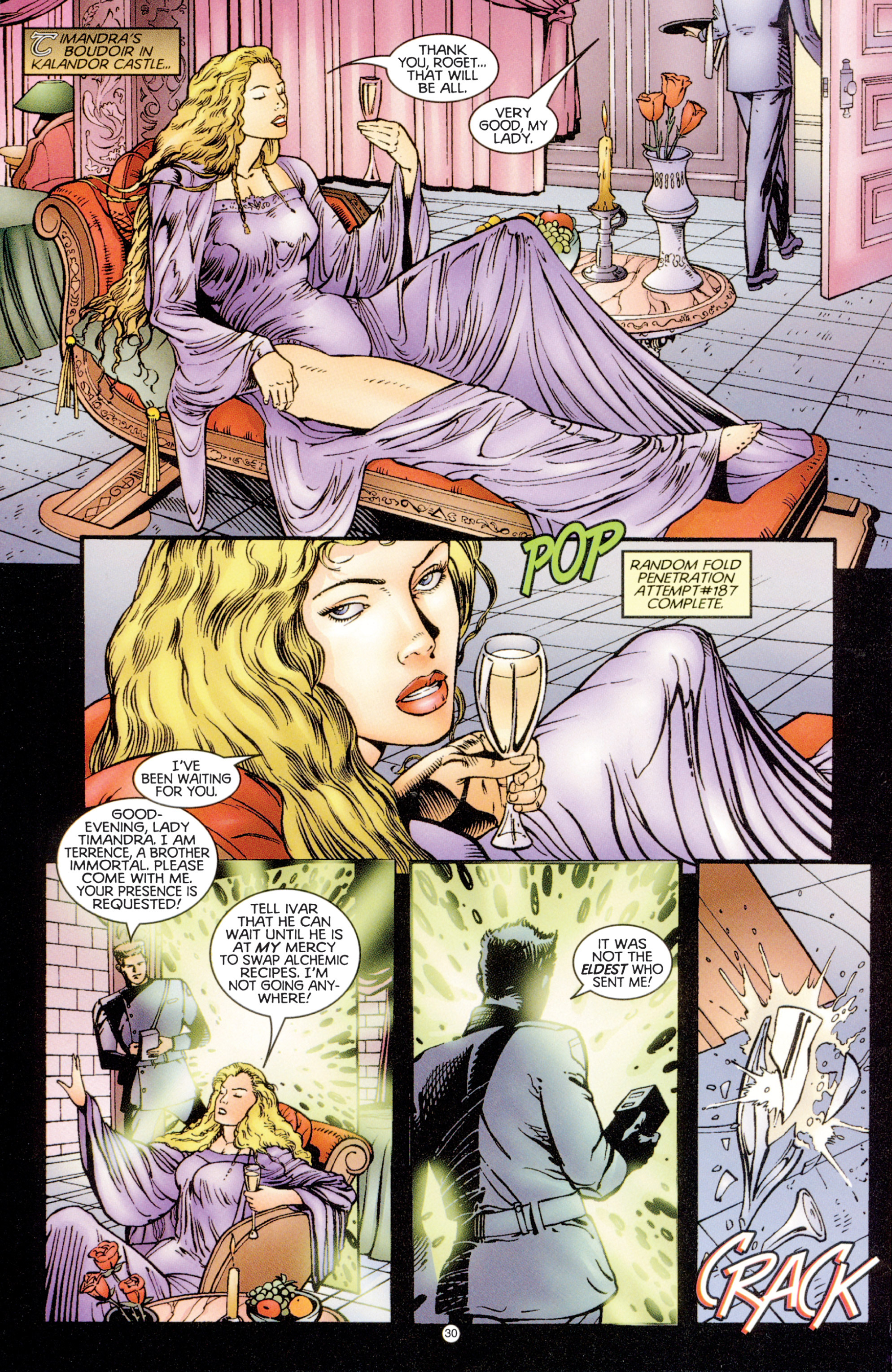 Read online Eternal Warriors comic -  Issue # Issue Digital Alchemy - 28