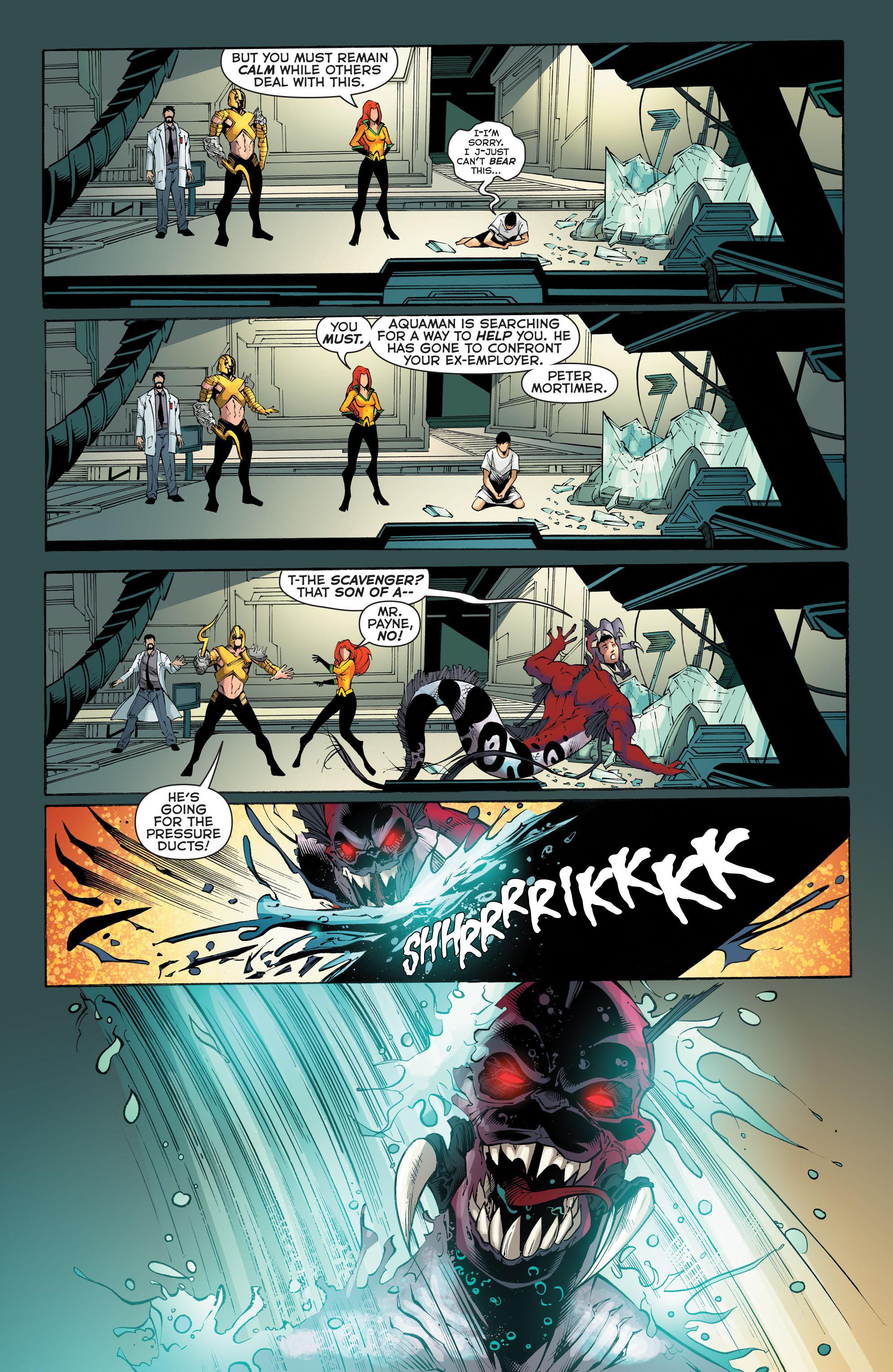 Read online Aquaman (2011) comic -  Issue #52 - 9