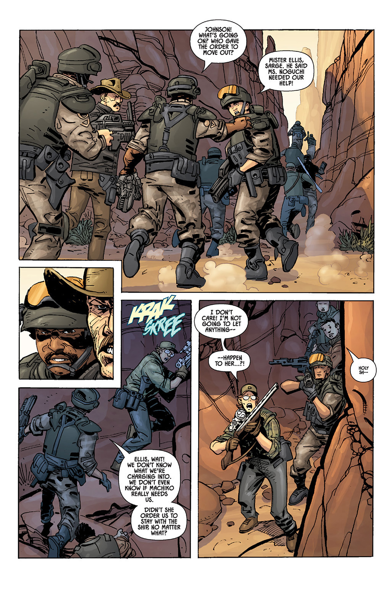 Read online Aliens vs. Predator: Three World War comic -  Issue #3 - 11