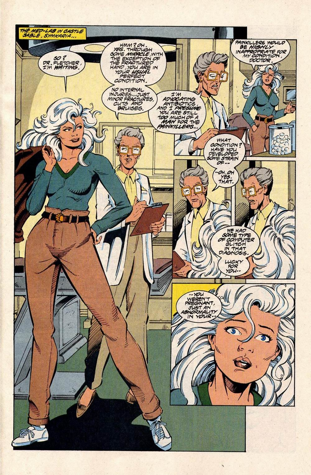 Read online Silver Sable and the Wild Pack comic -  Issue #33 - 20