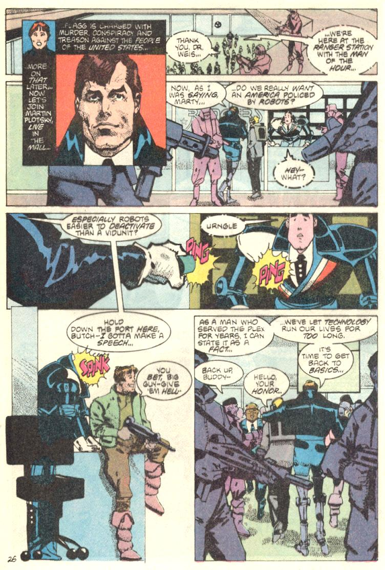 Read online American Flagg! comic -  Issue #9 - 27