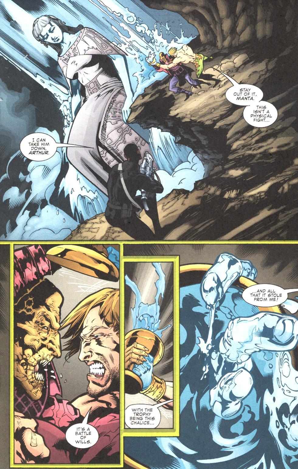Read online Aquaman (2003) comic -  Issue #11 - 15