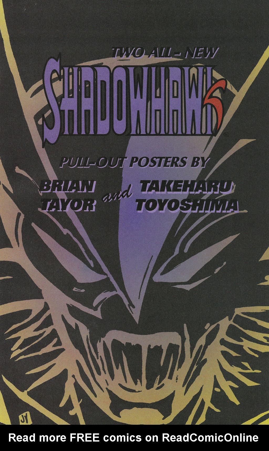 Read online ShadowHawk comic -  Issue #14 - 16