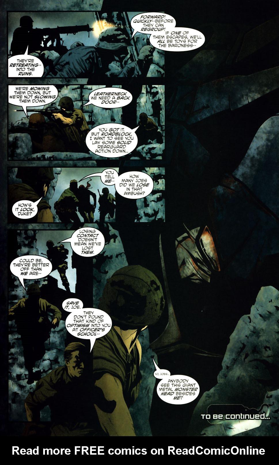 Read online Transformers/G.I. Joe comic -  Issue #1 - 20