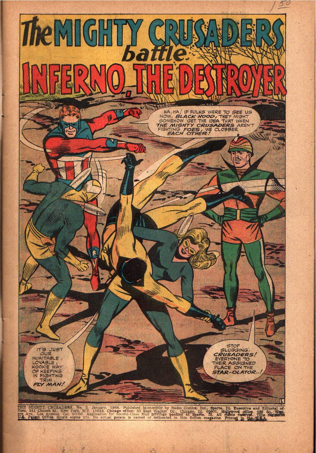The Mighty Crusaders (1965) Issue #2 #2 - English 2