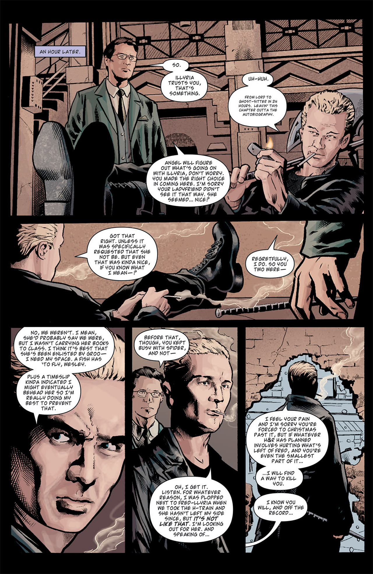 Read online Angel: After The Fall comic -  Issue #10 - 9