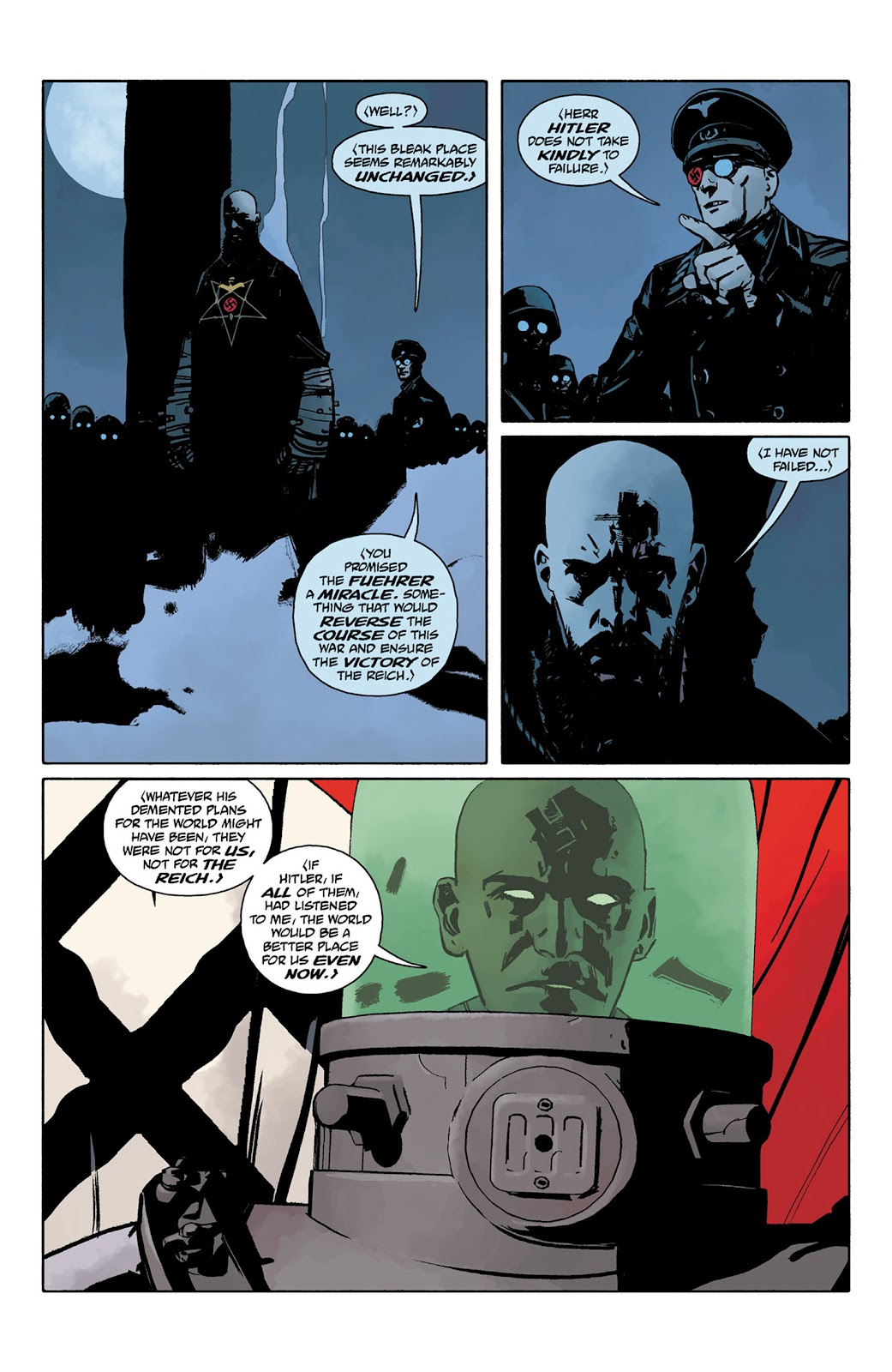 Read online Hellboy and the B.P.R.D. comic -  Issue # _TPB - 99