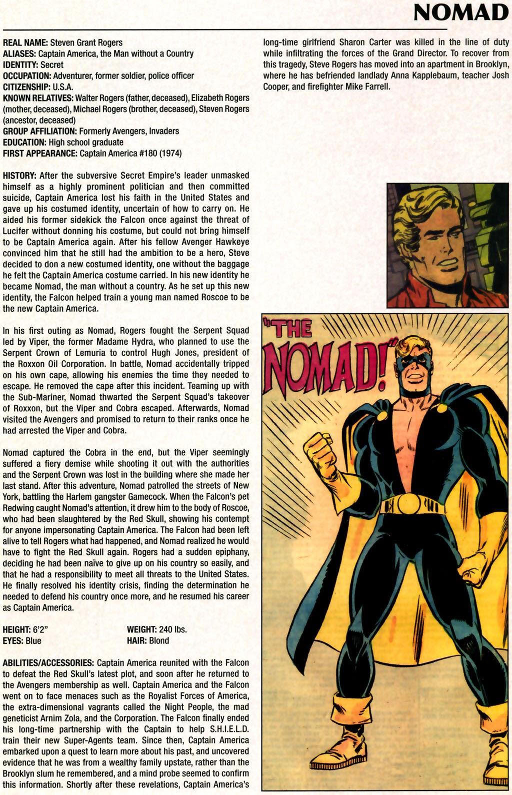 Read online Marvel Legacy: The 1970's Handbook comic -  Issue # Full - 45