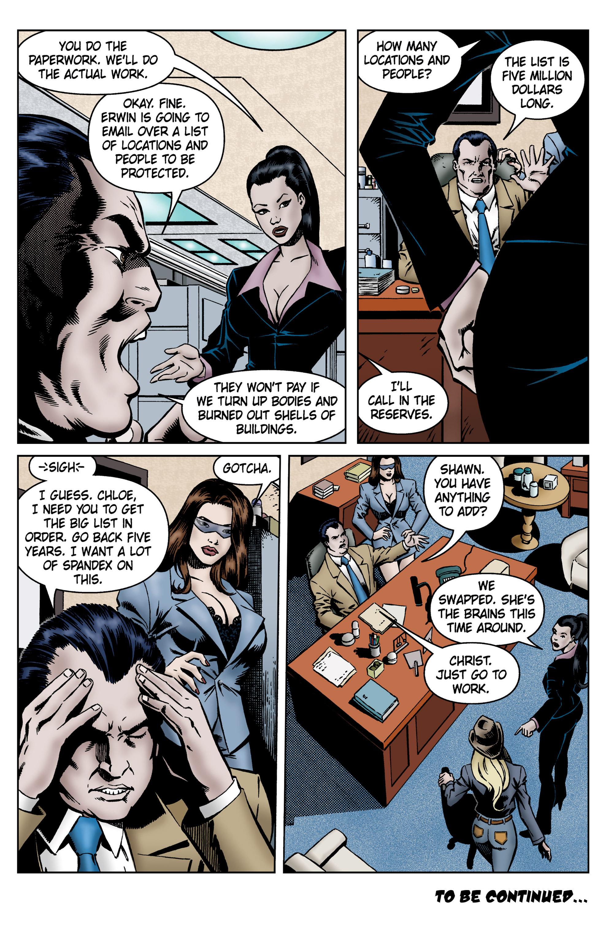 Read online SideChicks comic -  Issue #5 - 33
