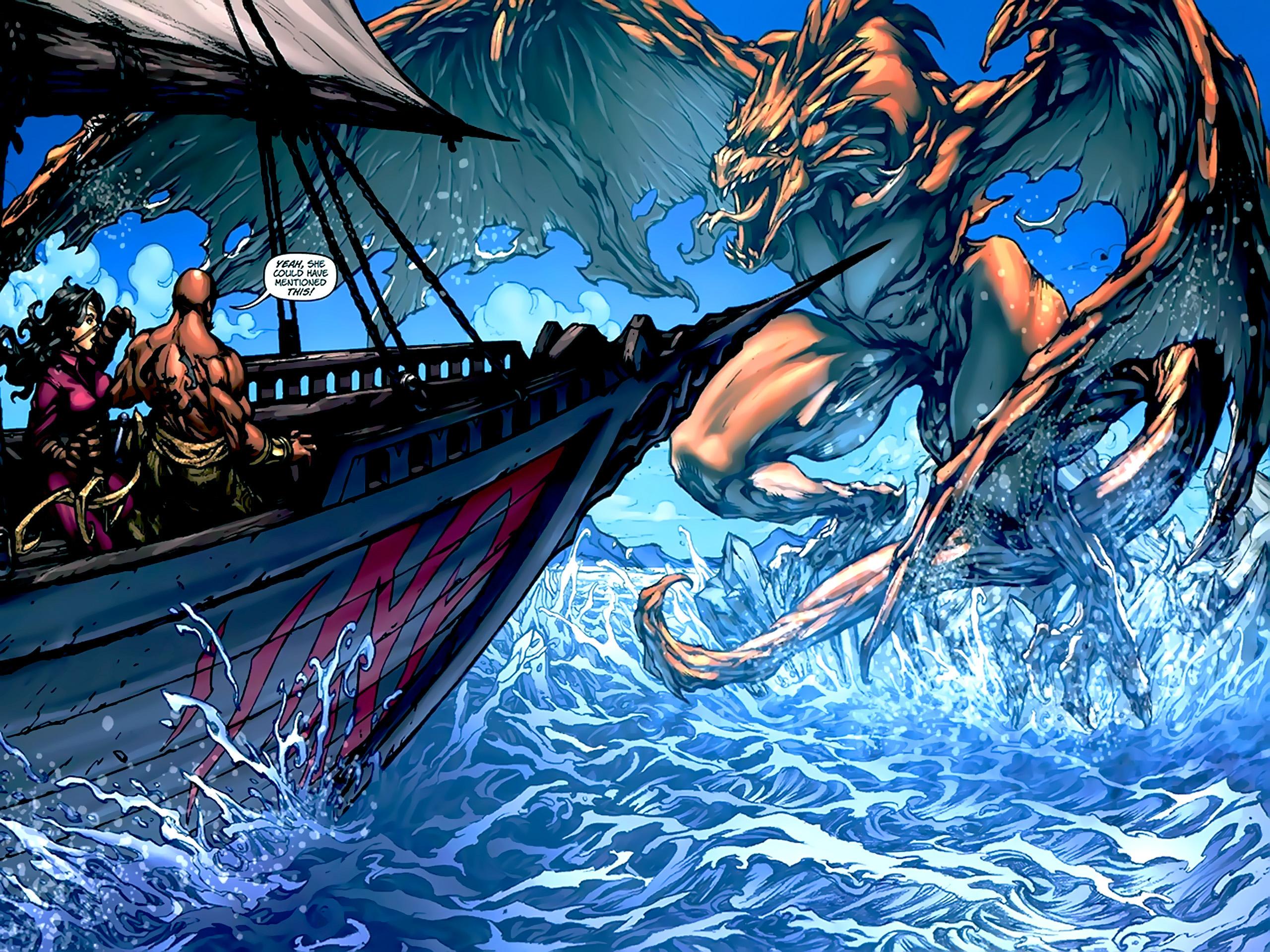 Read online 1001 Arabian Nights: The Adventures of Sinbad comic -  Issue #2 - 21