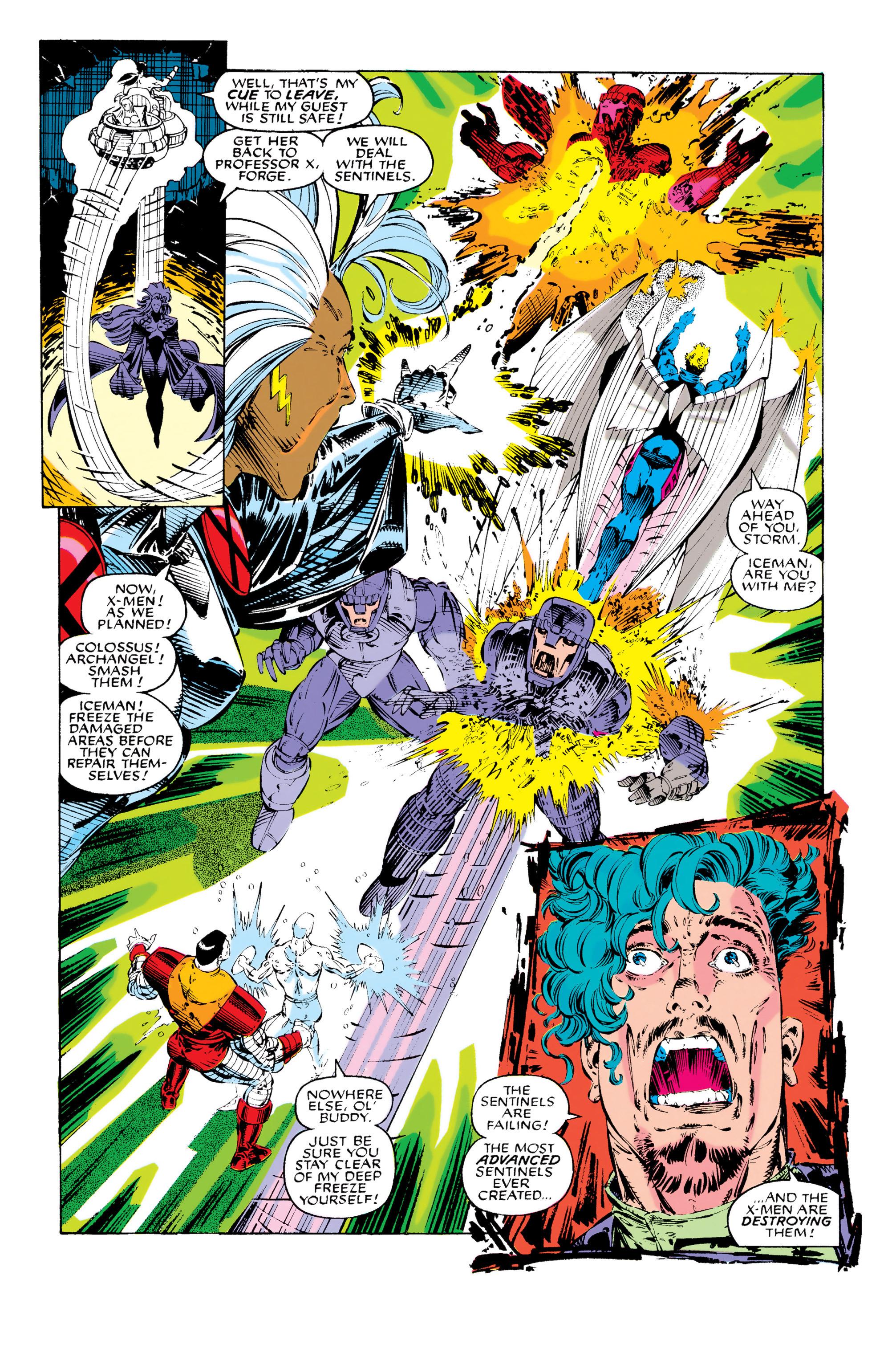 Read online Uncanny X-Men (1963) comic -  Issue #282 - 17