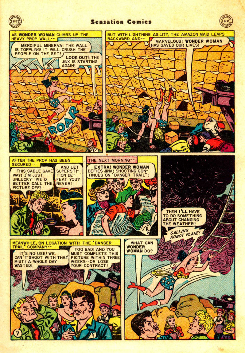 Read online Sensation (Mystery) Comics comic -  Issue #88 - 8