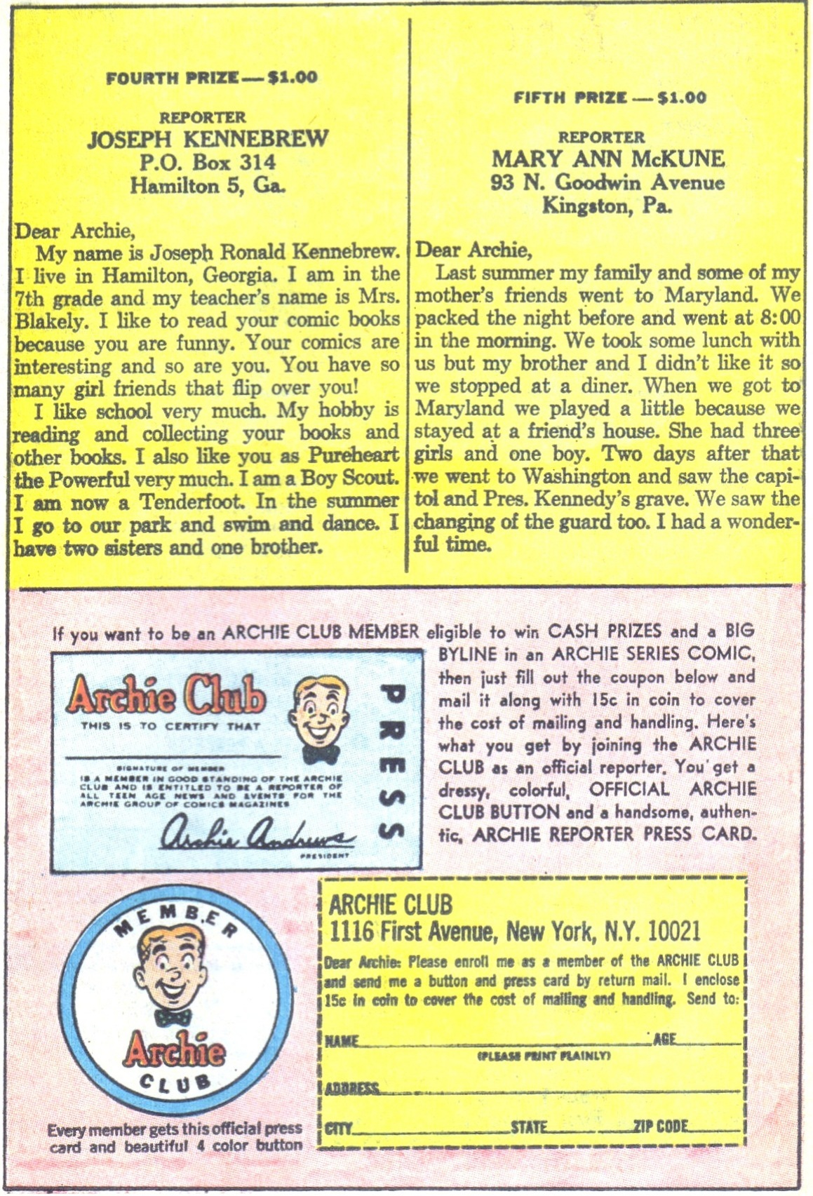 Read online Archie (1960) comic -  Issue #169 - 11