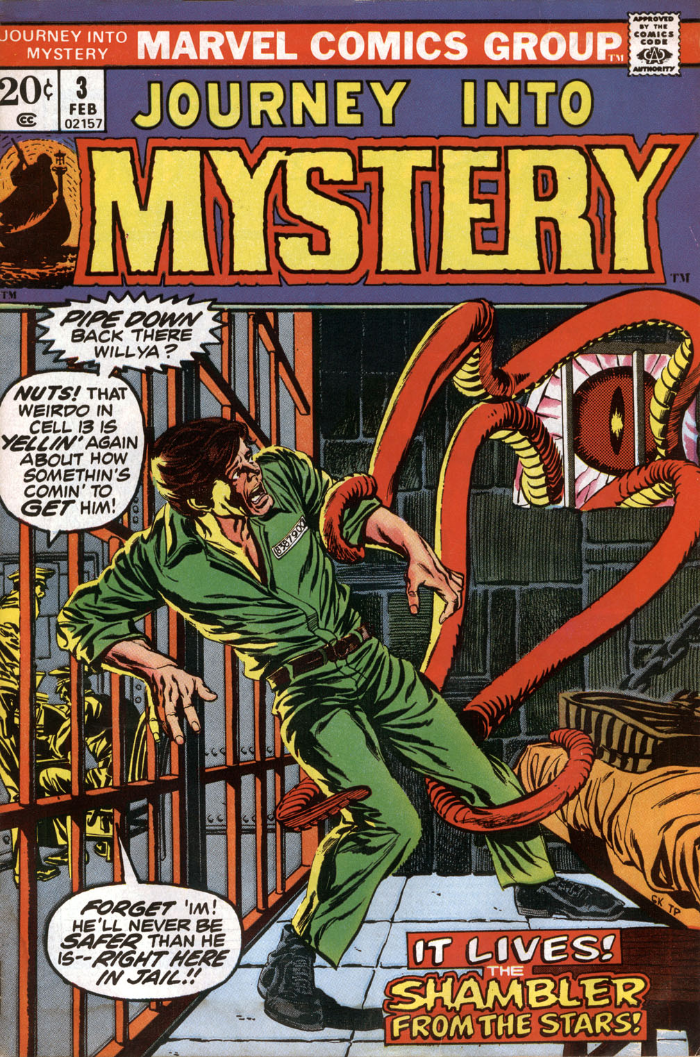 Journey Into Mystery (1972) issue 3 - Page 1