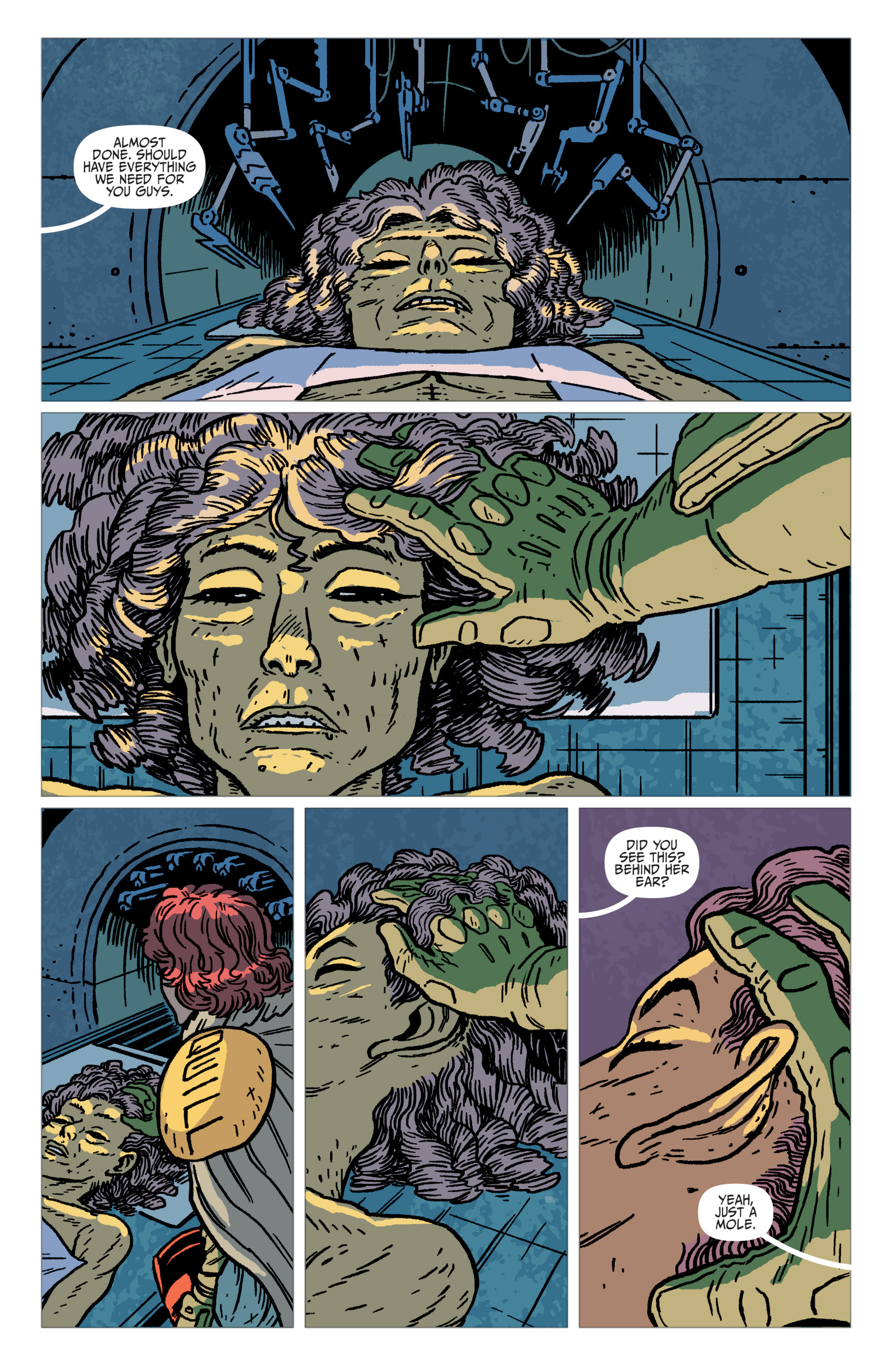 Read online Judge Dredd: The Blessed Earth comic -  Issue #1 - 14