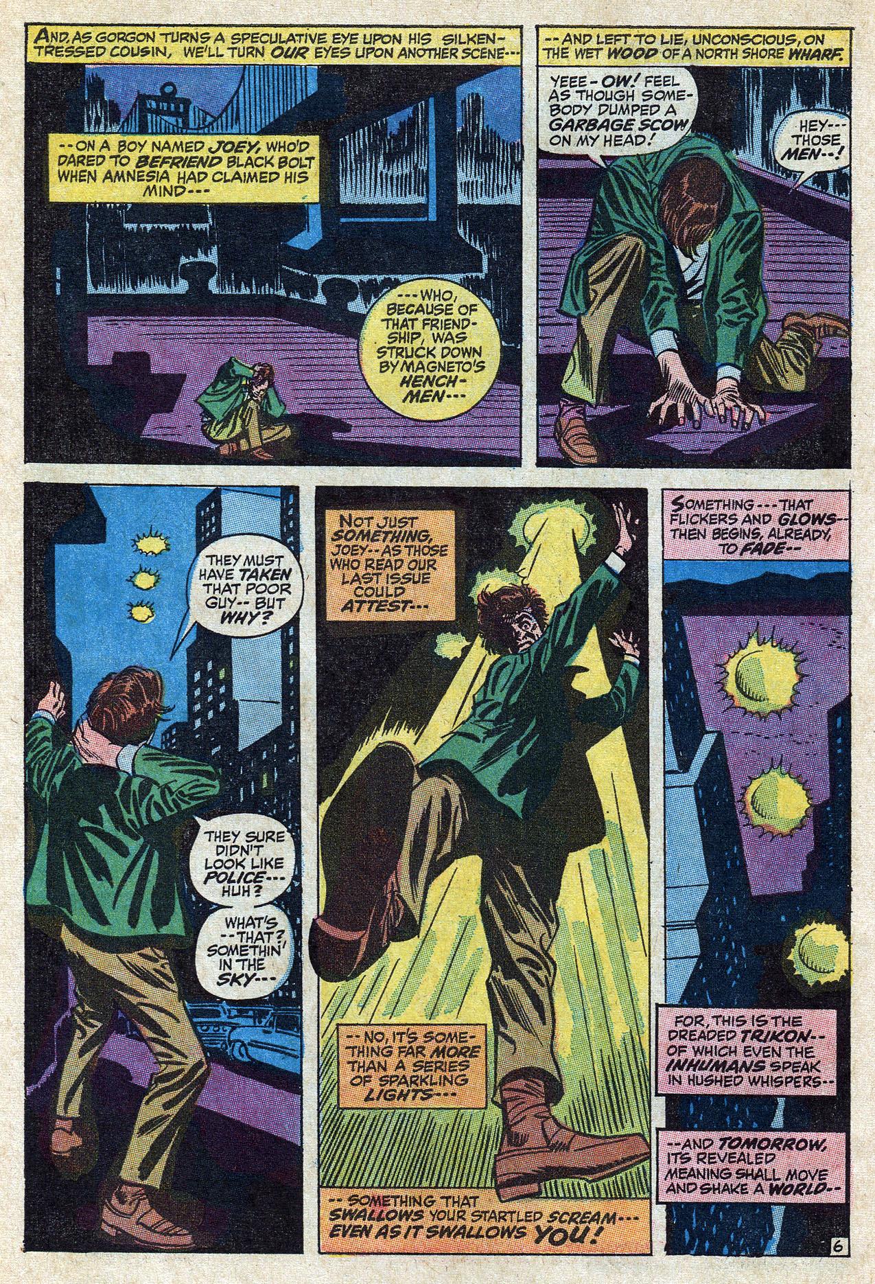 Read online Amazing Adventures (1970) comic -  Issue #10 - 10