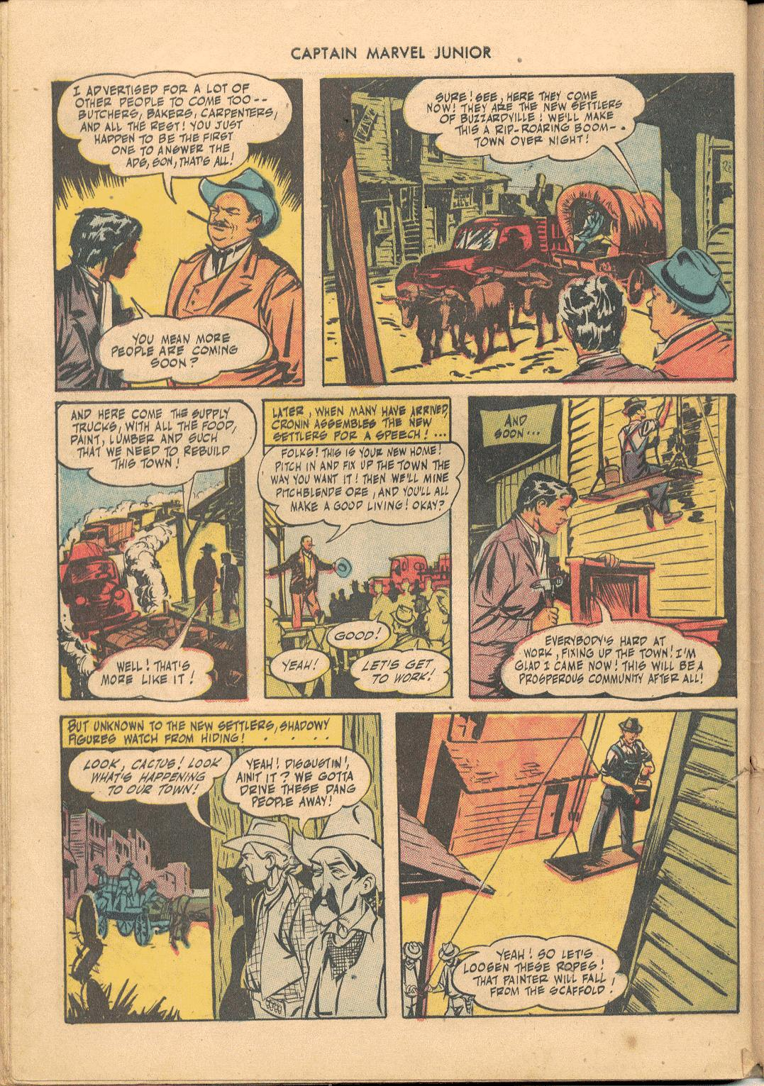 Captain Marvel, Jr. issue 38 - Page 39