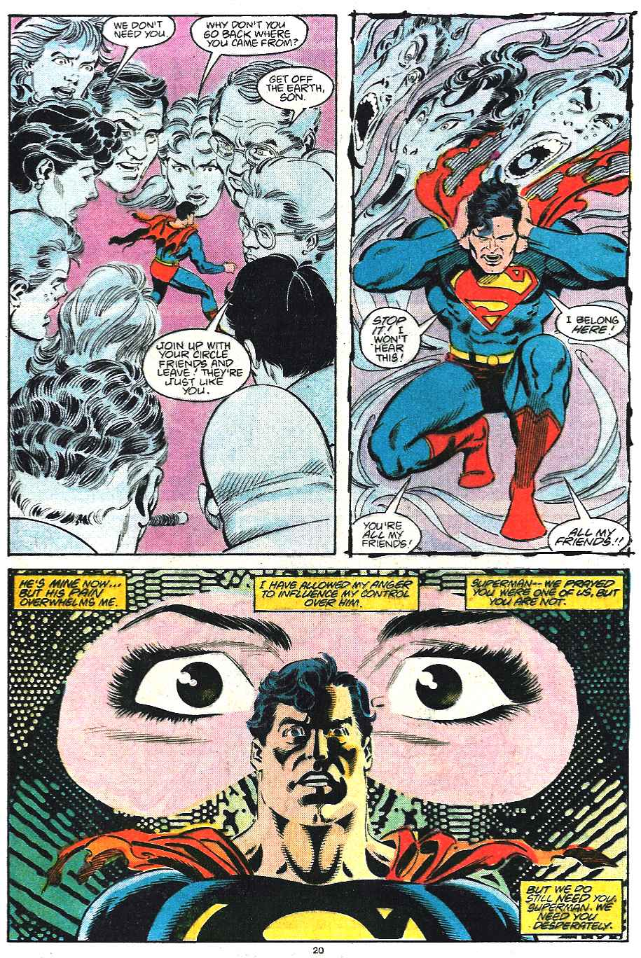 Read online Adventures of Superman (1987) comic -  Issue #435 - 21