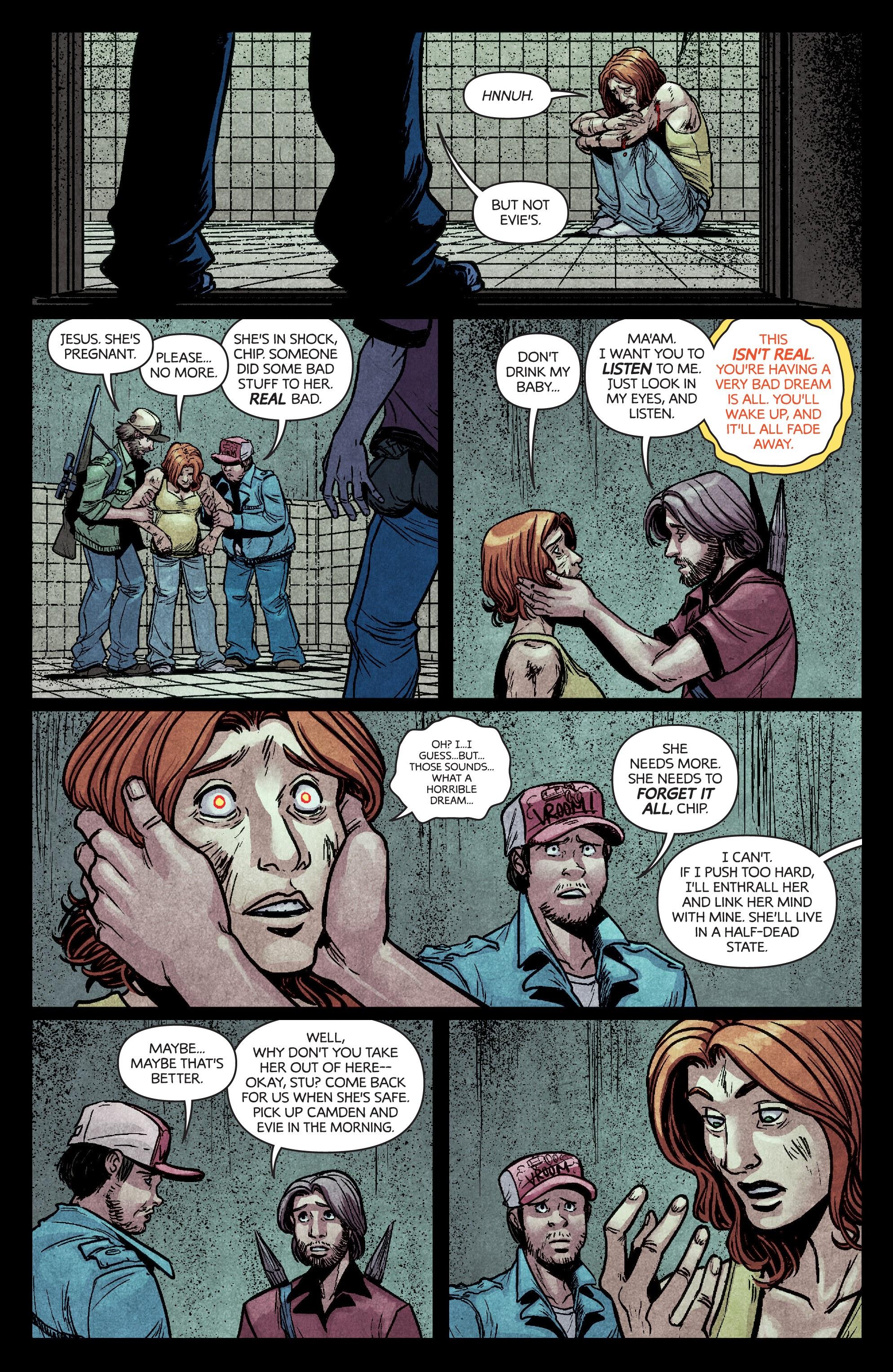 Read online Dark Red comic -  Issue #4 - 16