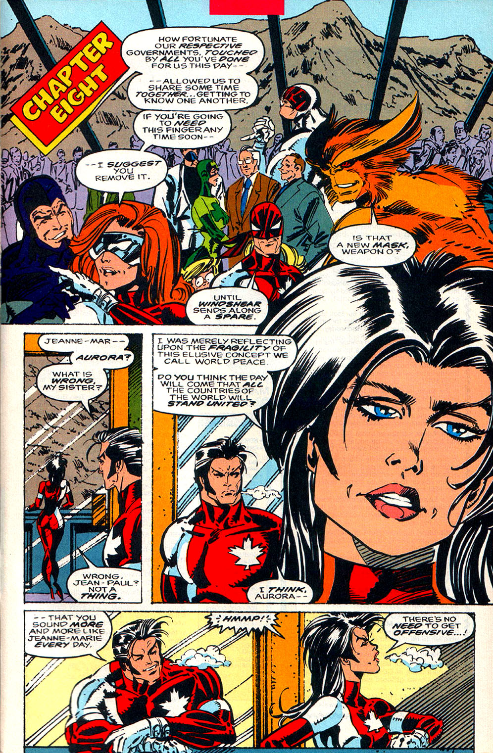Read online Alpha Flight (1983) comic -  Issue #108 - 21