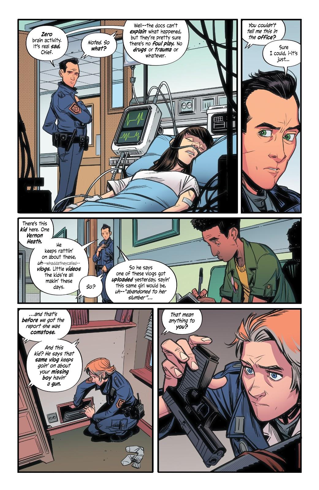 Read online Alienated comic -  Issue #3 - 14