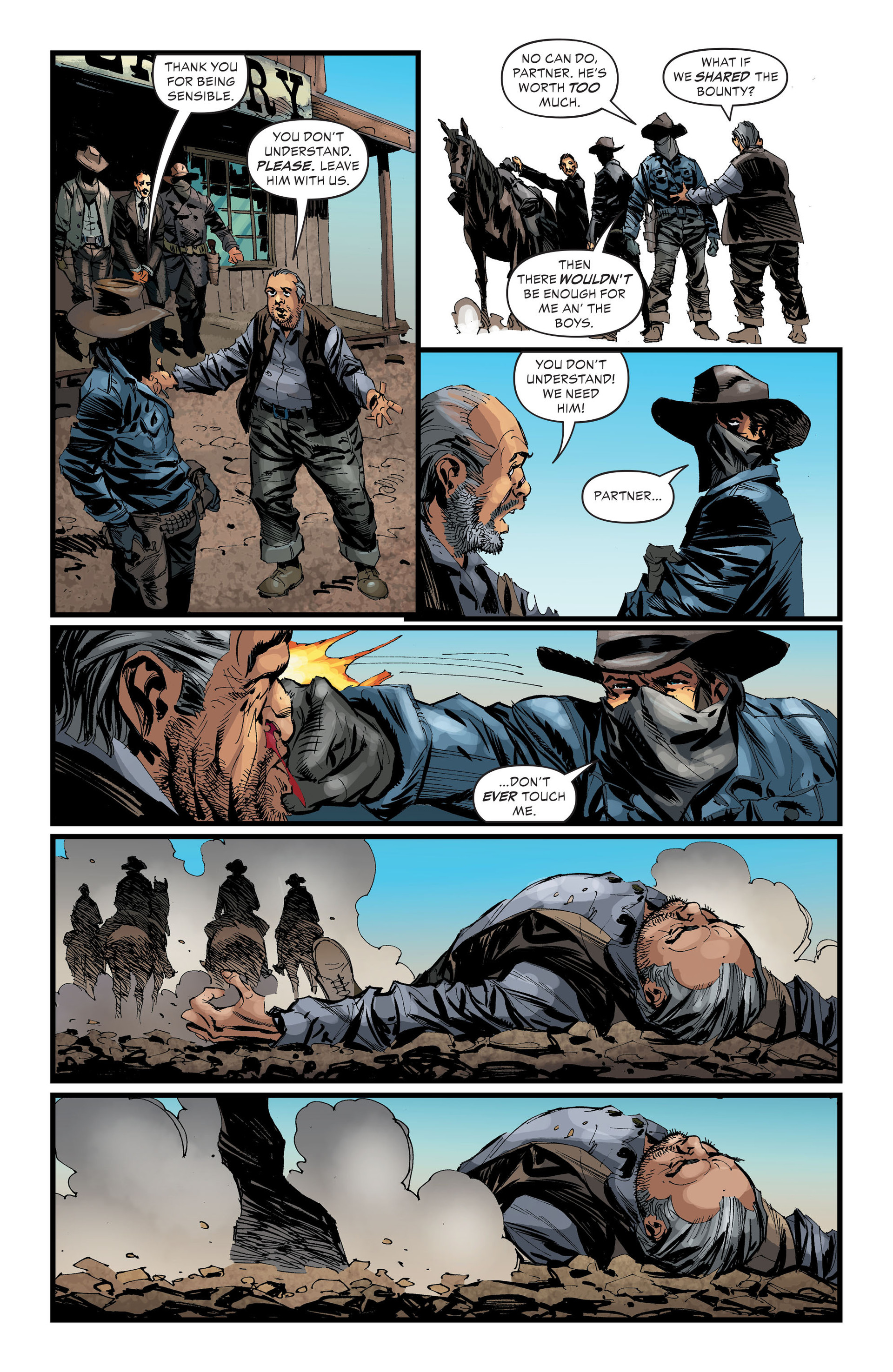 Read online All-Star Western (2011) comic -  Issue #33 - 8
