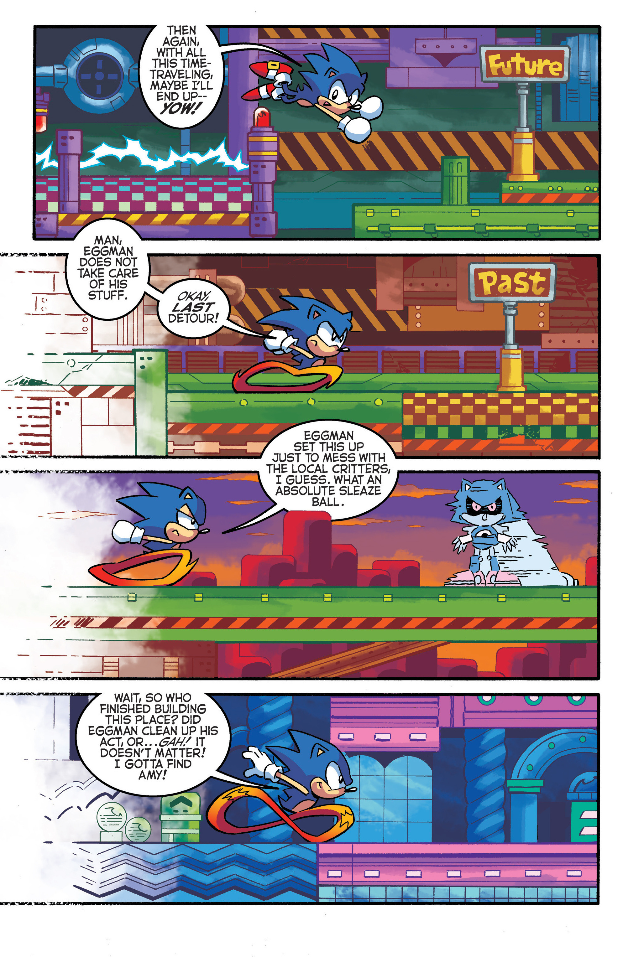 Read online Sonic The Hedgehog comic -  Issue #290 - 17