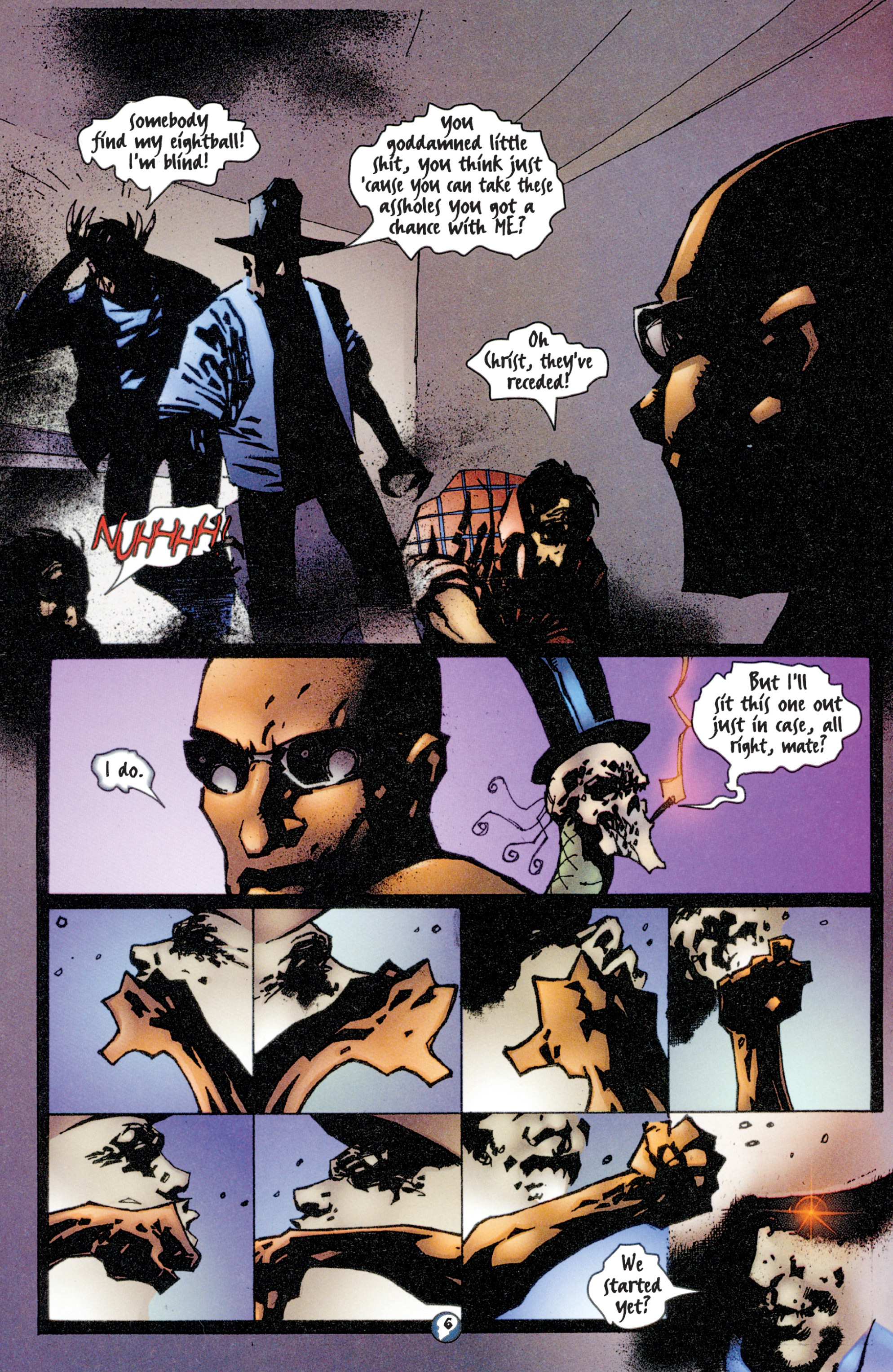 Read online Shadowman (1997) comic -  Issue #4 - 6