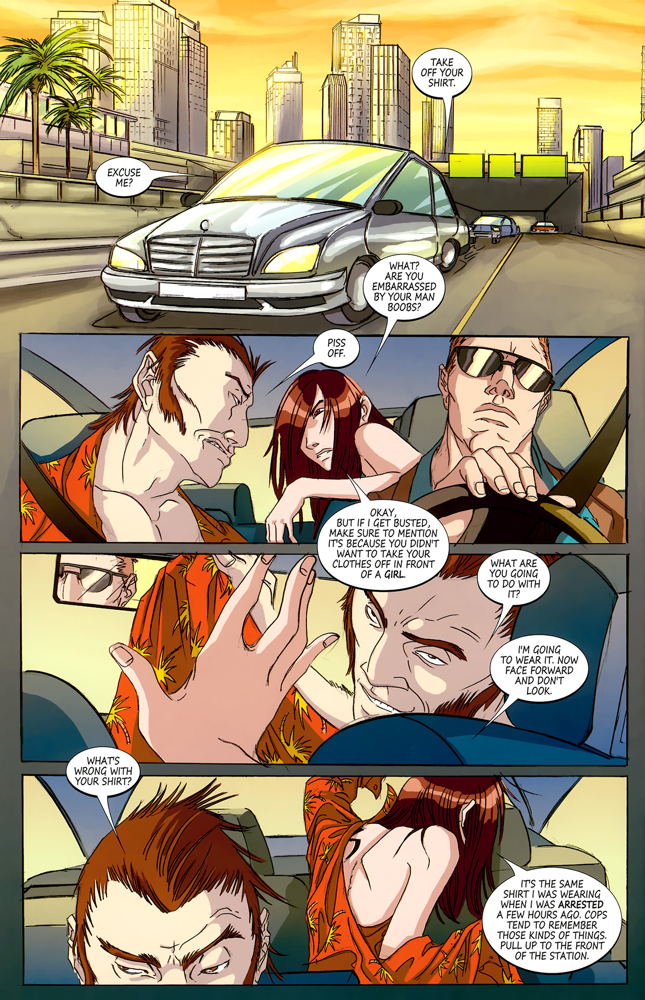 Read online Hexed comic -  Issue #4 - 10