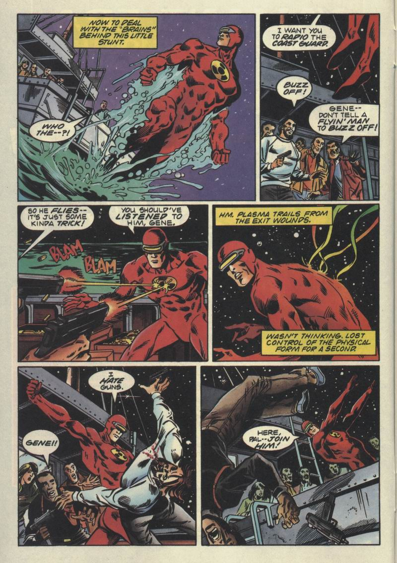 Read online Solar, Man of the Atom comic -  Issue #32 - 6