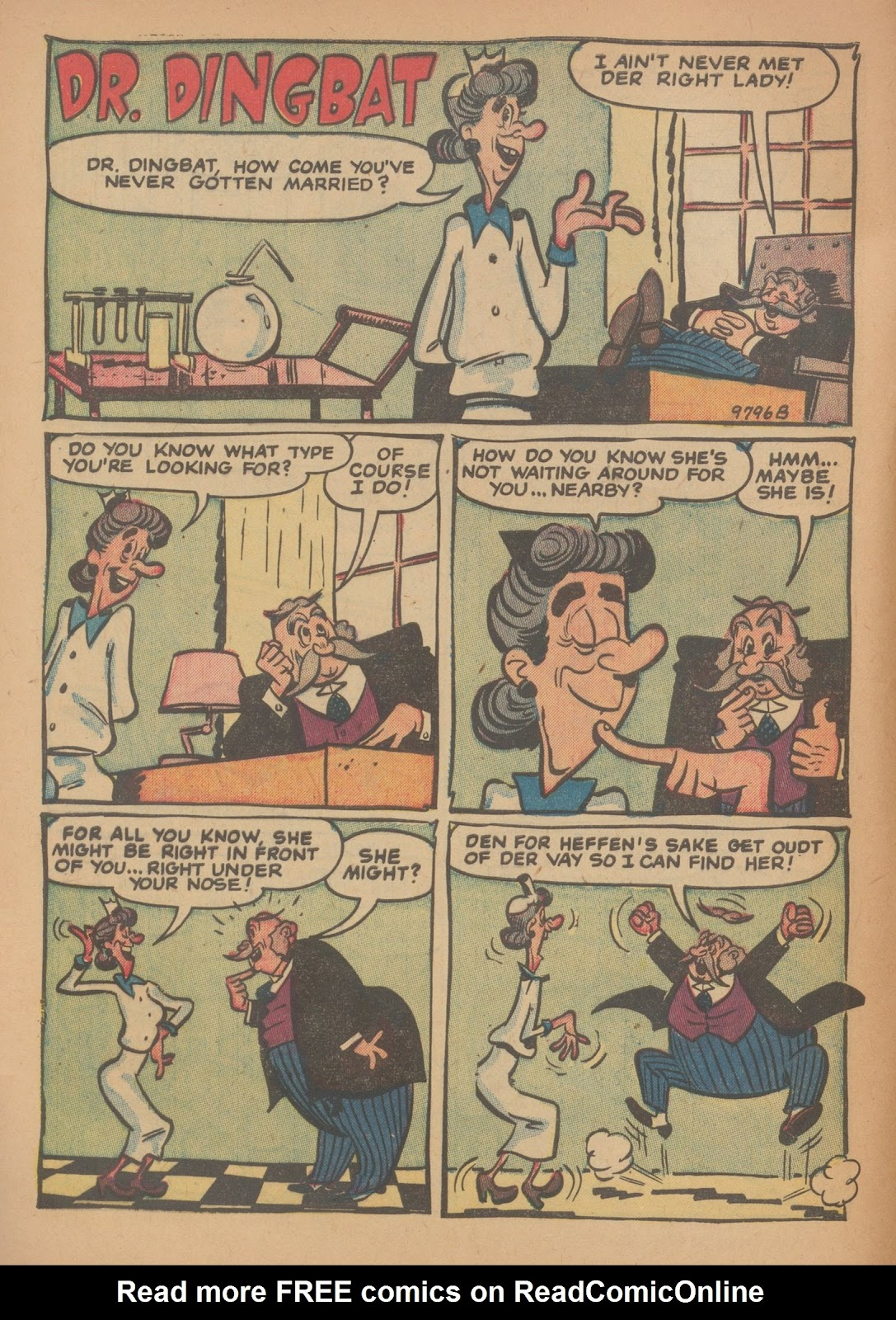 Read online Nellie The Nurse (1945) comic -  Issue #34 - 8