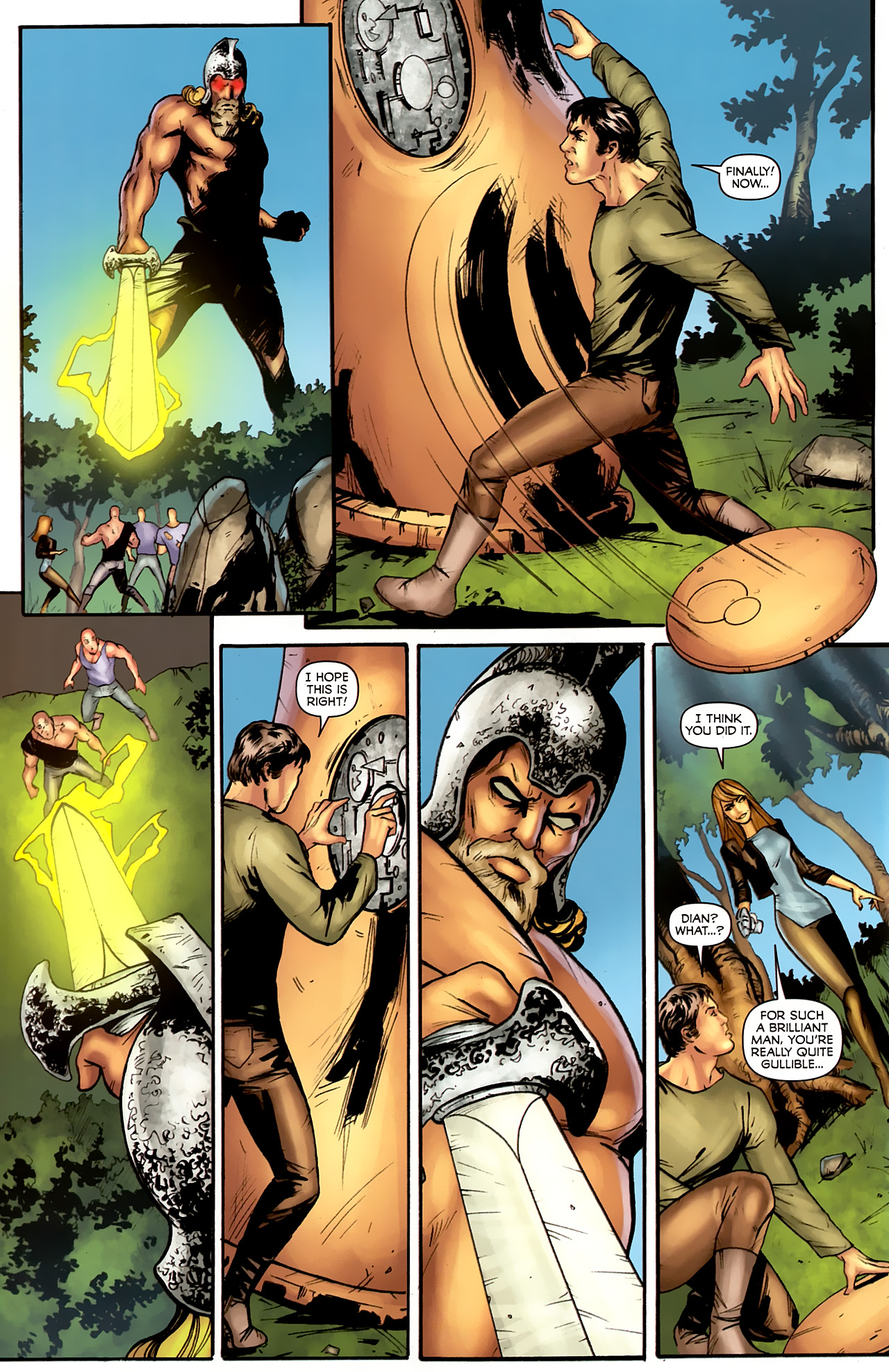 Read online Stargate: Daniel Jackson comic -  Issue #4 - 22