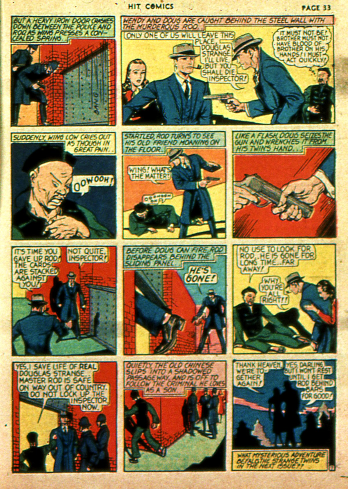 Read online Hit Comics comic -  Issue #2 - 35