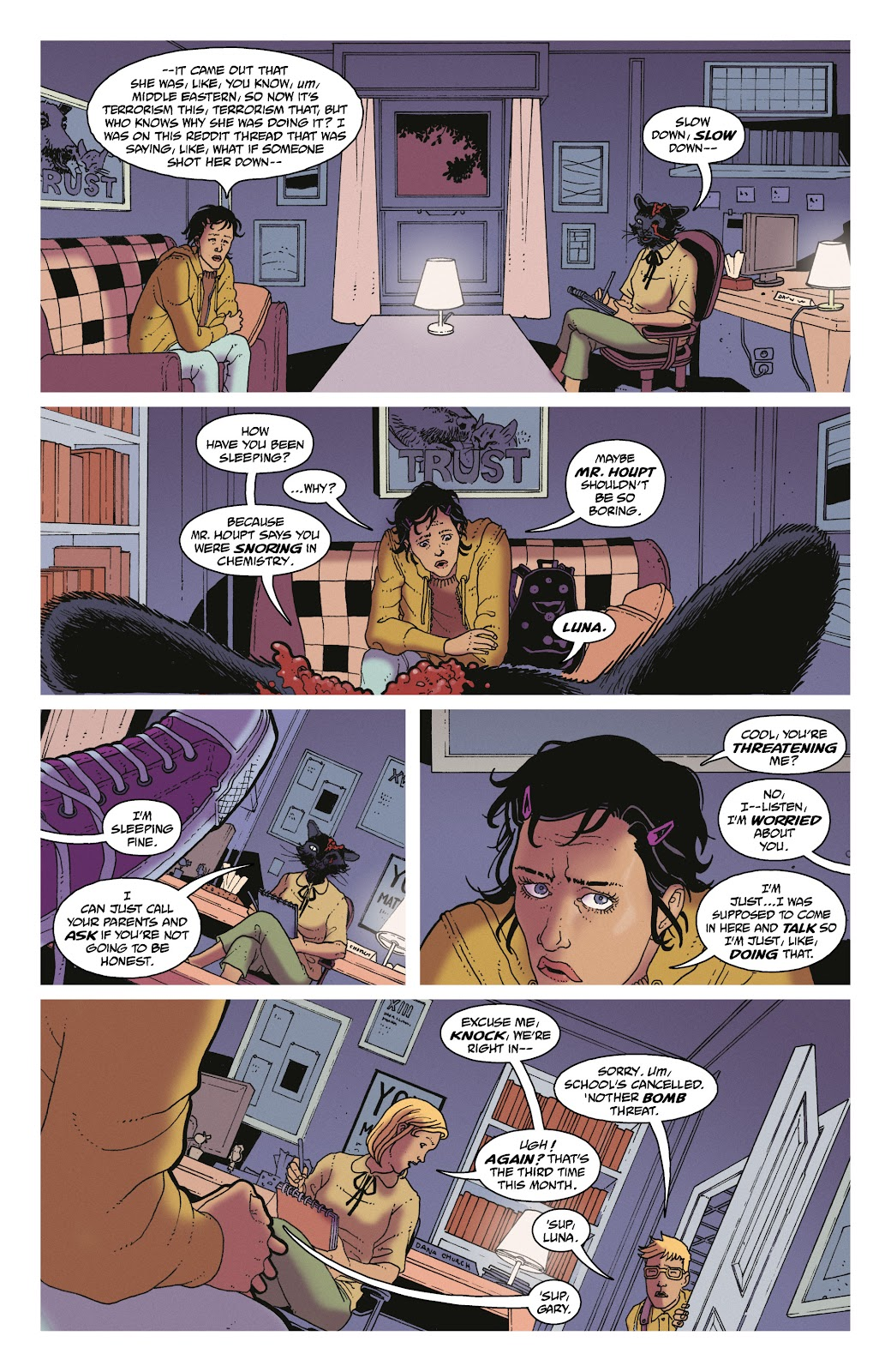 Read online She Could Fly comic -  Issue # _TPB - 46