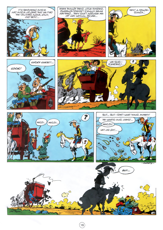 Read online A Lucky Luke Adventure comic -  Issue #30 - 17