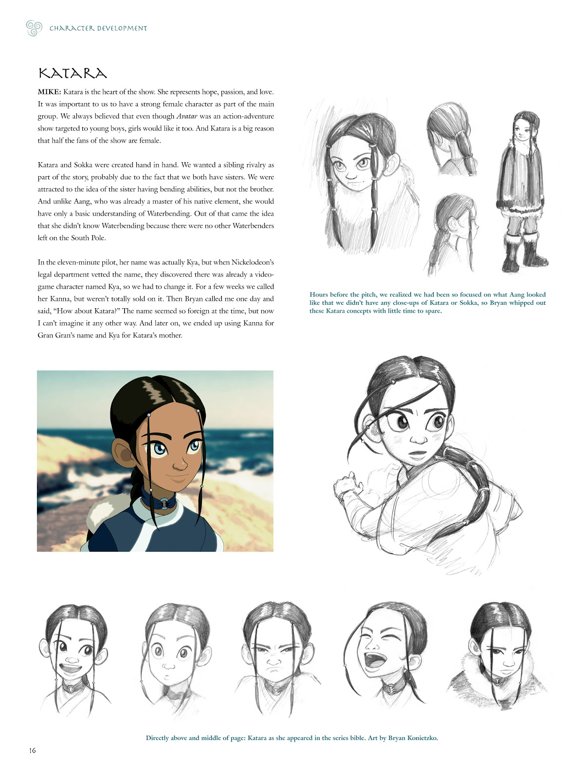 Read online Avatar: The Last Airbender - The Art of the Animated Series comic -  Issue # TPB (Part 1) - 19