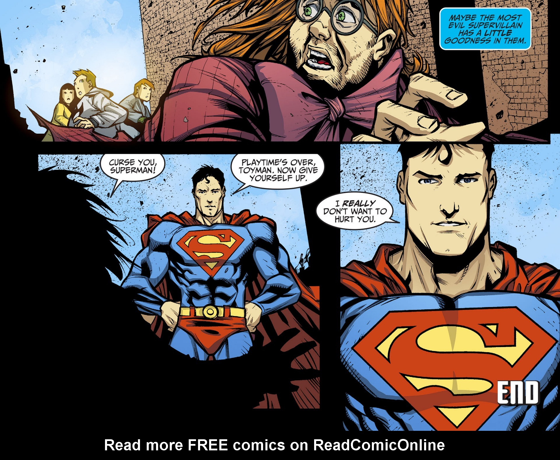 Read online Adventures of Superman [I] comic -  Issue #36 - 22