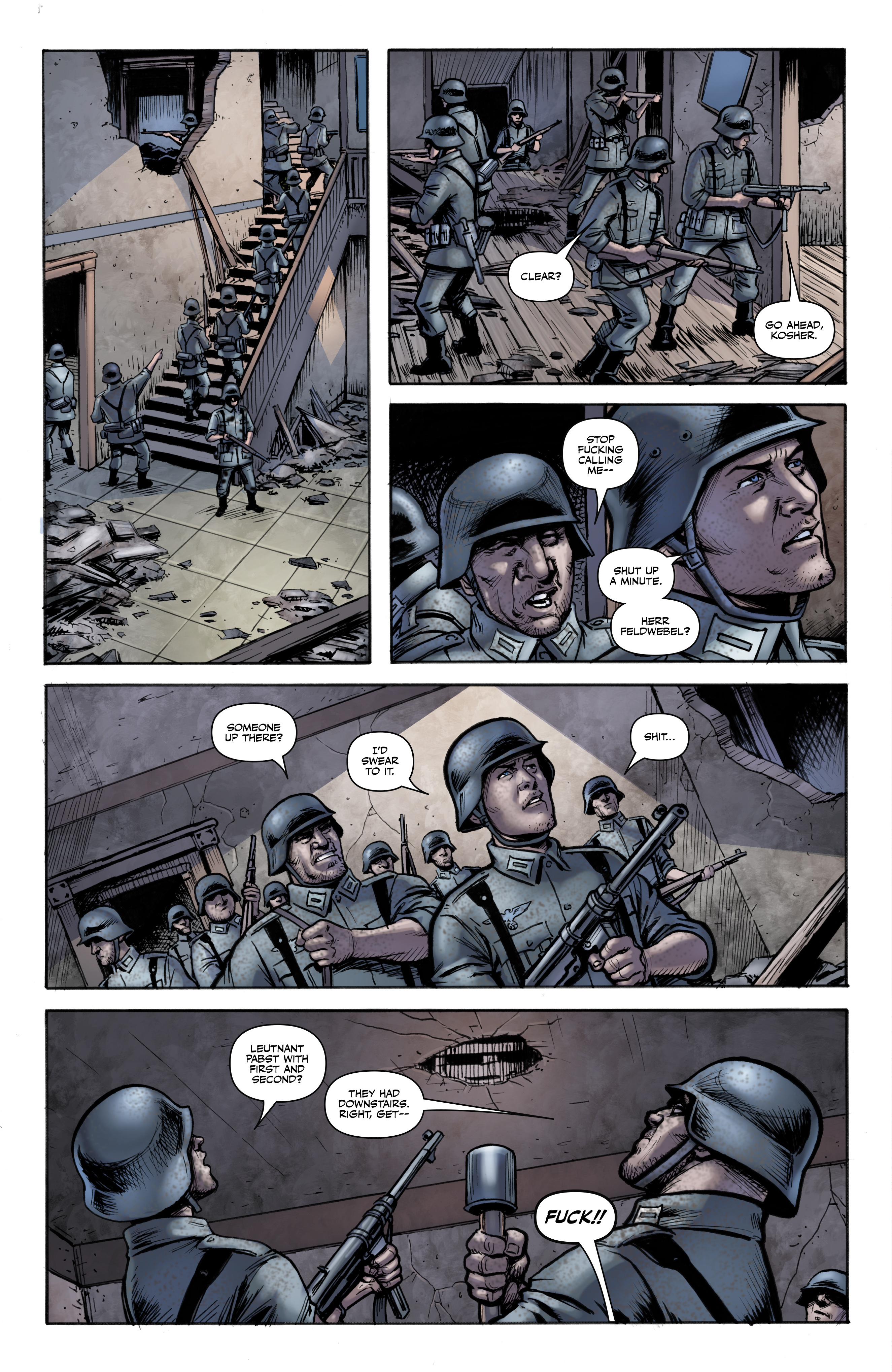 Read online Battlefields: Night Witches comic -  Issue # TPB - 11