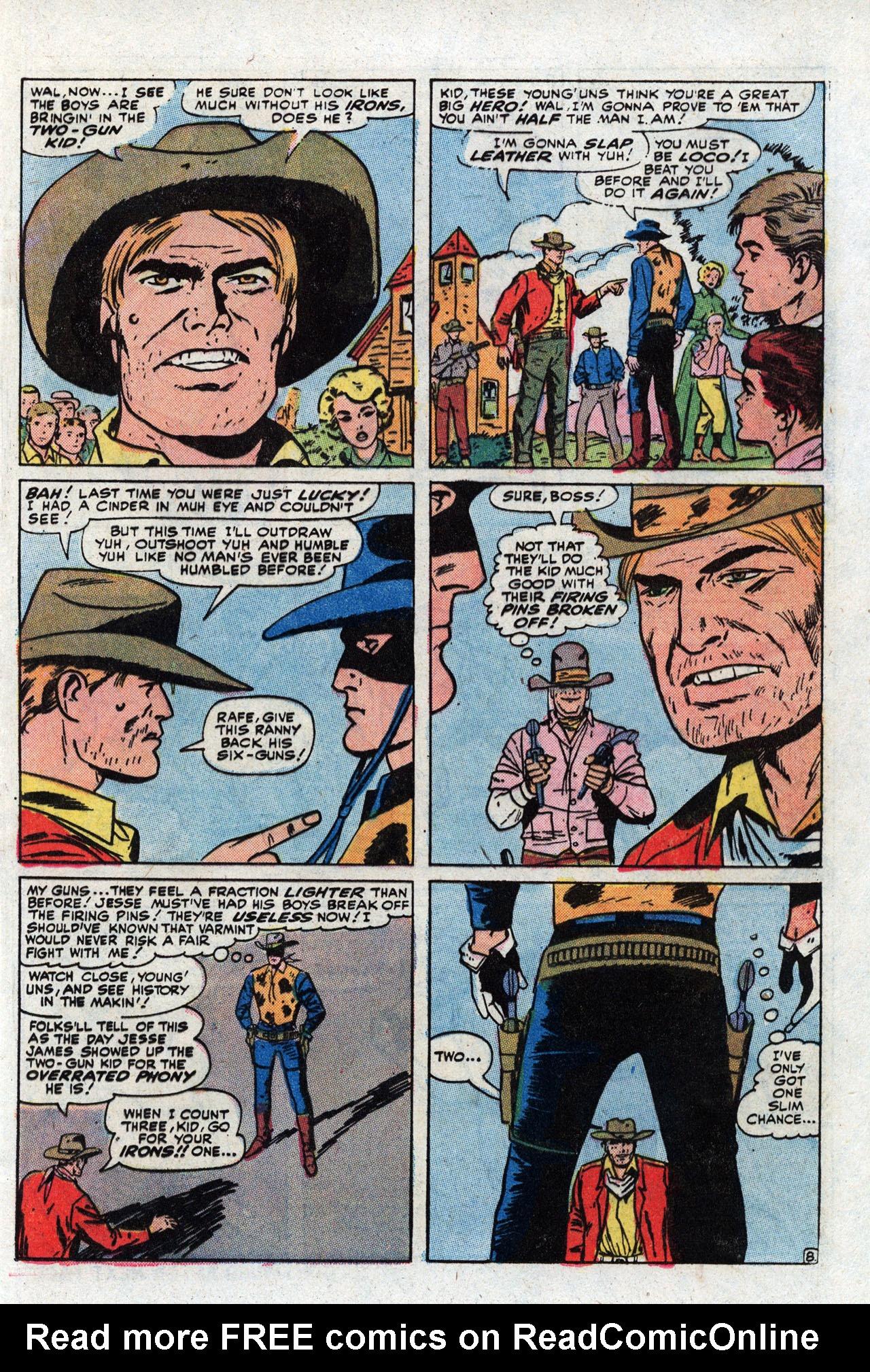 Read online Two-Gun Kid comic -  Issue #111 - 13