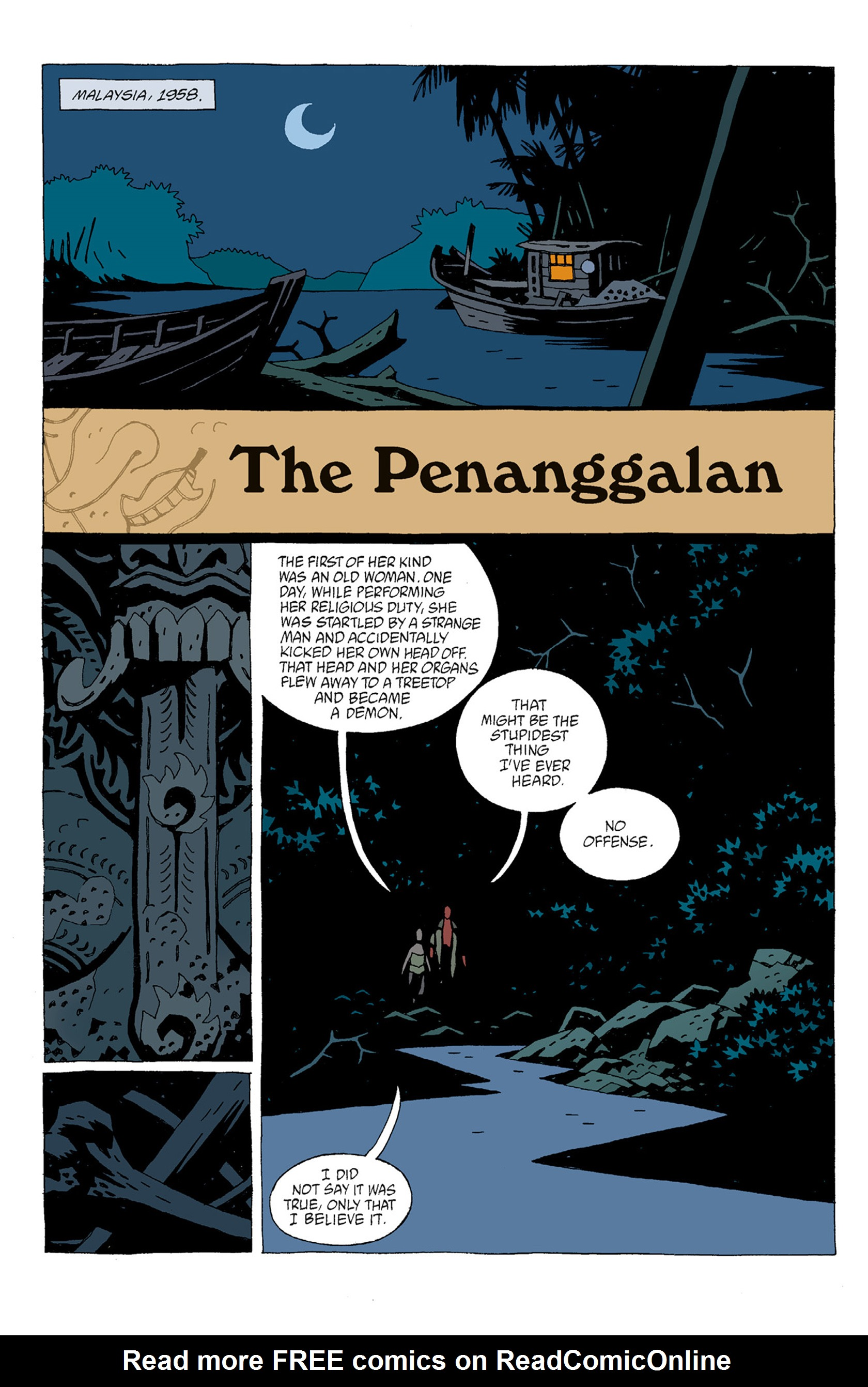 Read online Hellboy: The Troll Witch and Others comic -  Issue # TPB - 8