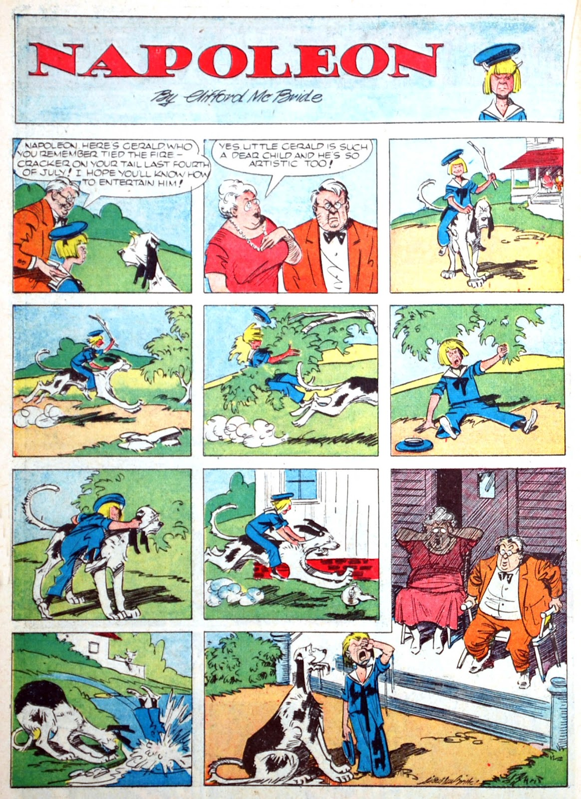 Read online Famous Funnies comic -  Issue #75 - 32