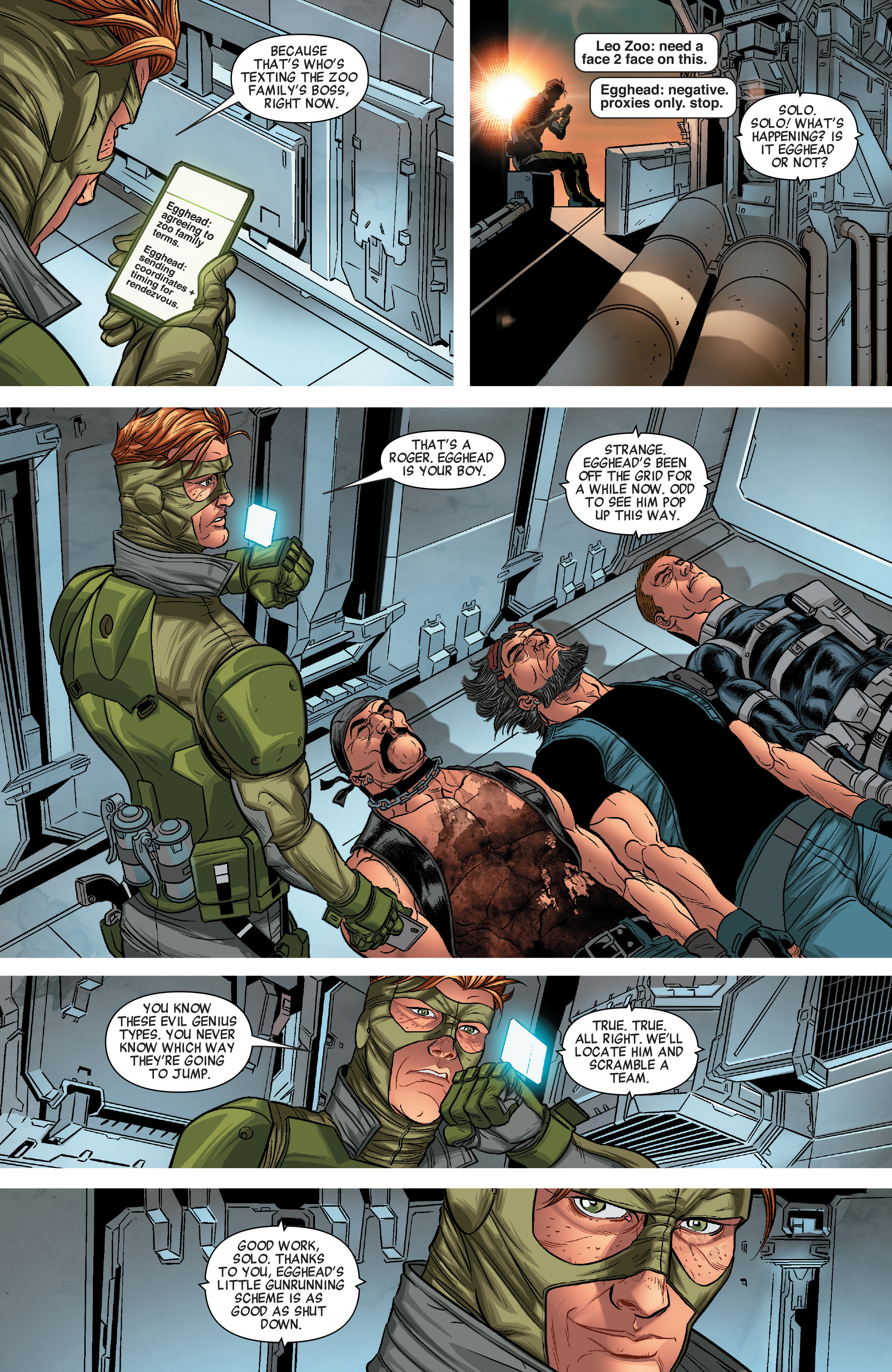 Read online Solo (2016) comic -  Issue #3 - 21