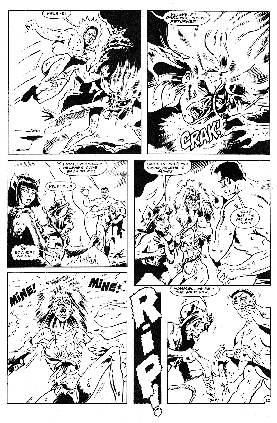 Ex-Mutants: The Shattered Earth Chronicles issue 9 - Page 14