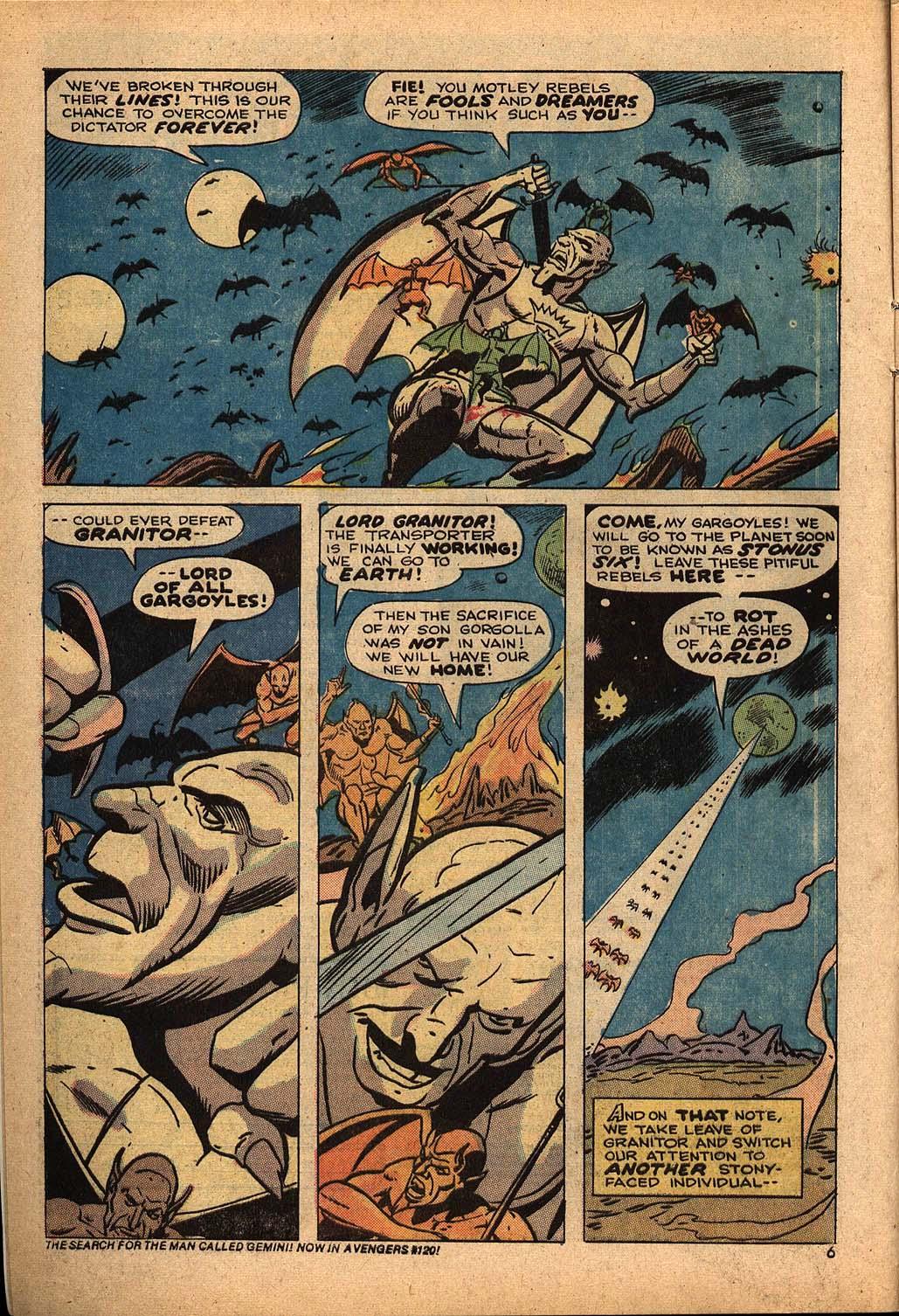 Read online Astonishing Tales (1970) comic -  Issue #22 - 4