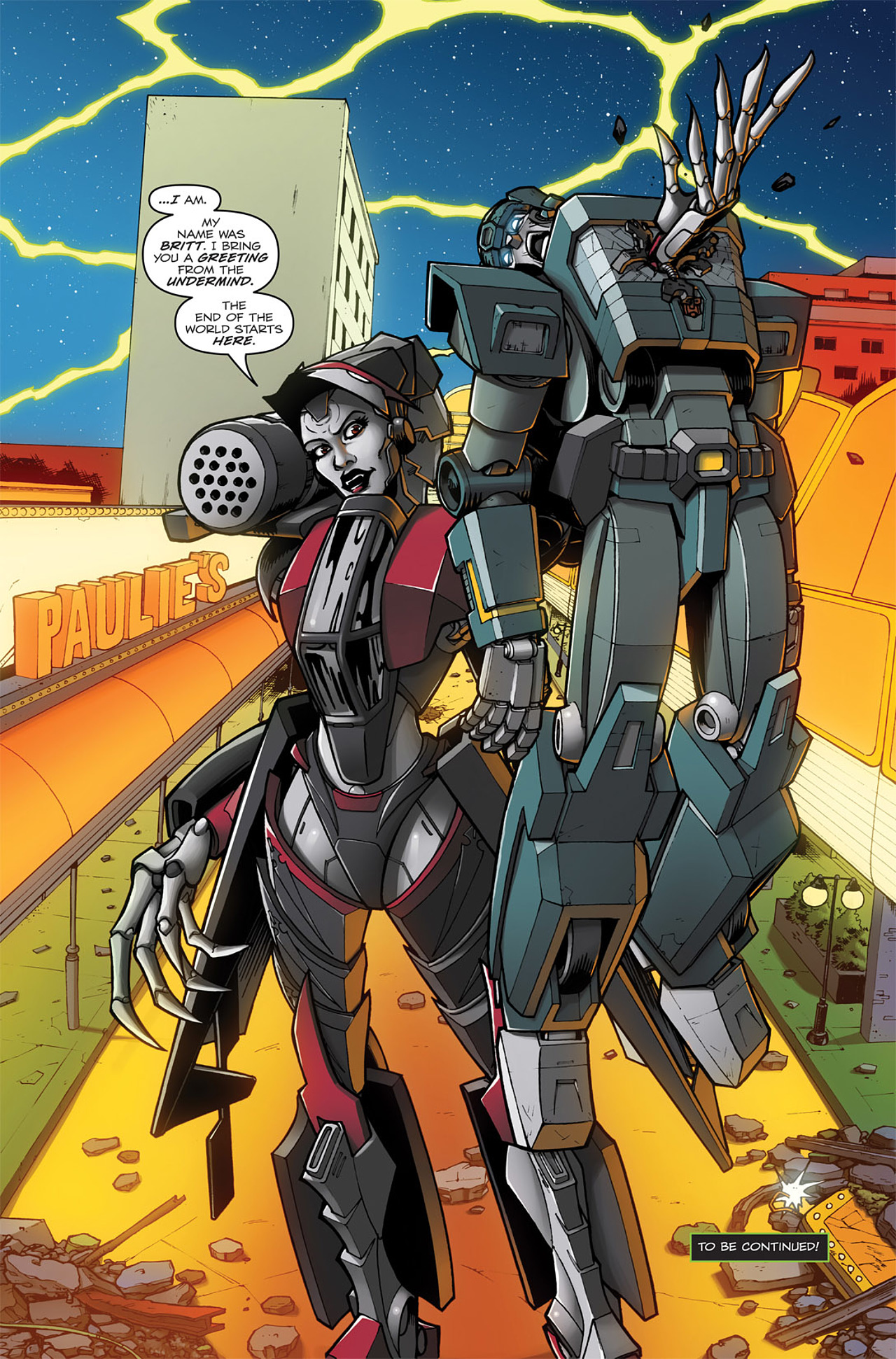 Read online Transformers: Infestation comic -  Issue #1 - 25