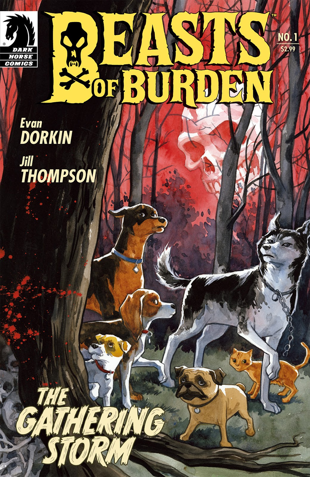 Beasts of Burden issue 1 - Page 1