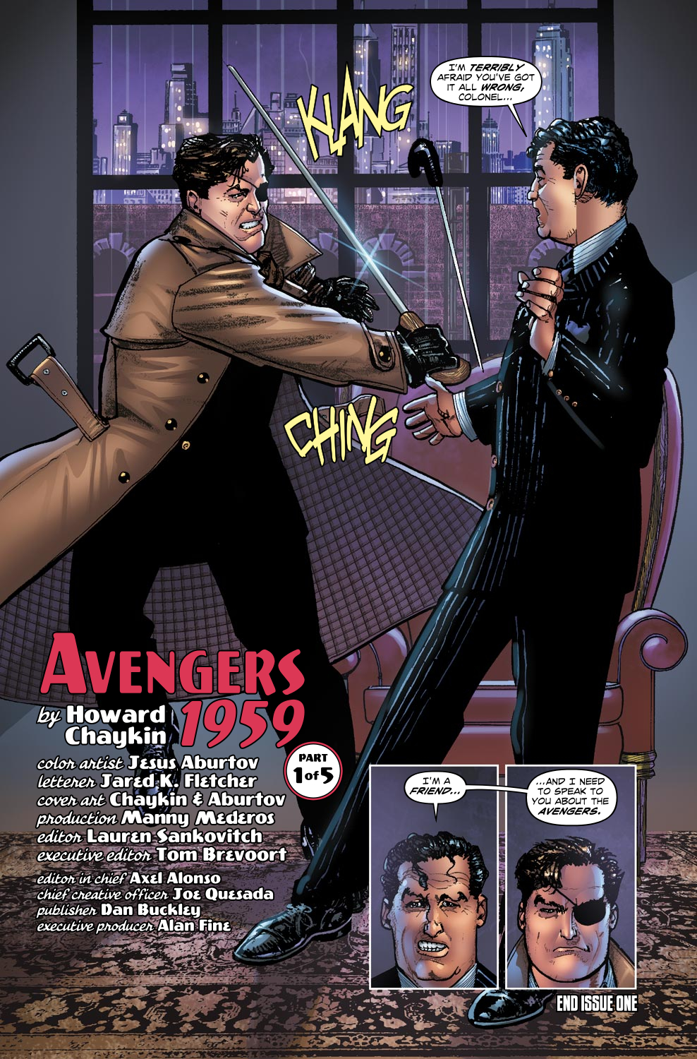 Read online Avengers 1959 comic -  Issue #1 - 21