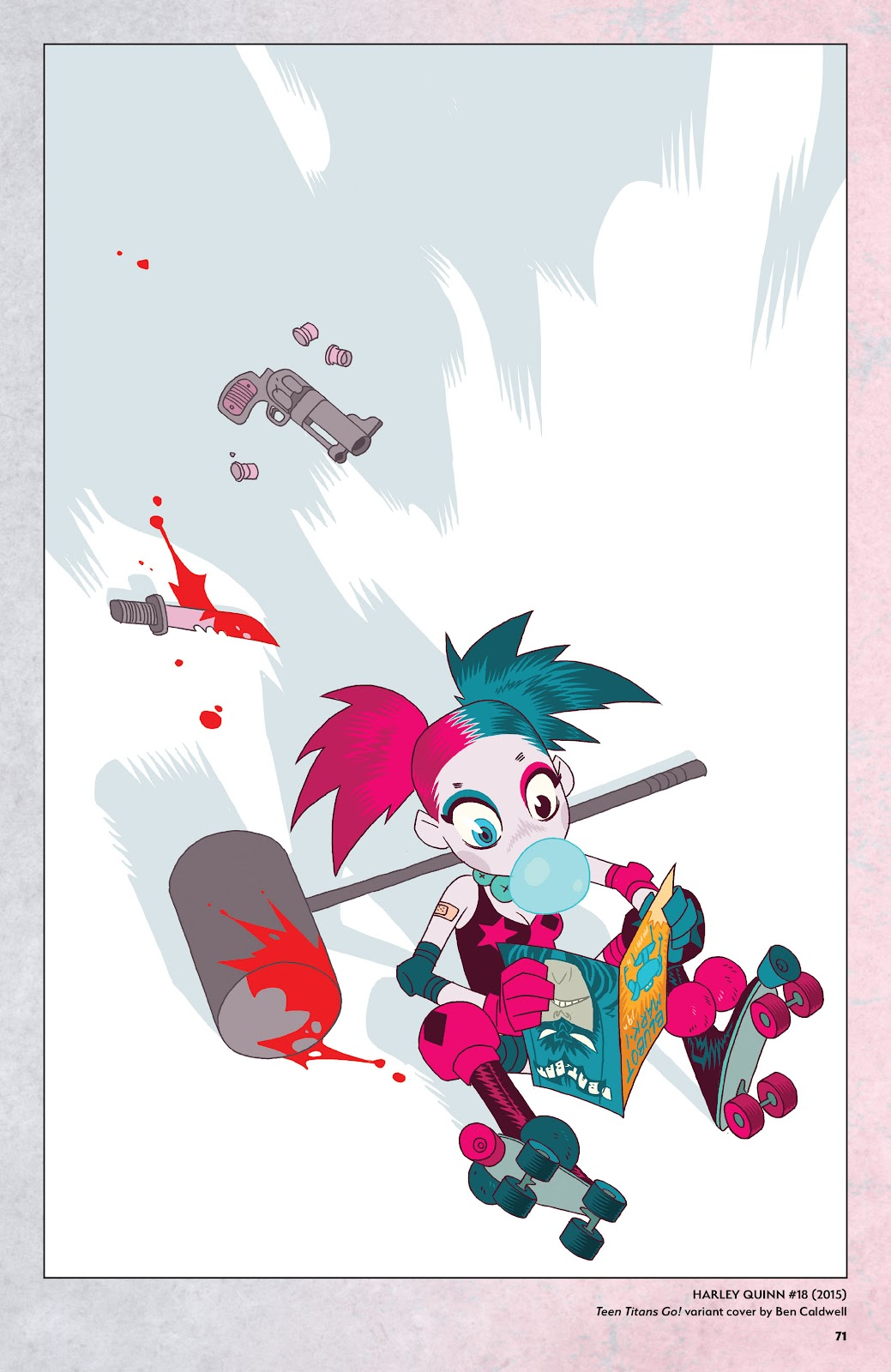 Read online Harley Quinn: A Rogue's Gallery―The Deluxe Cover Art Collection comic -  Issue # TPB (Part 1) - 68