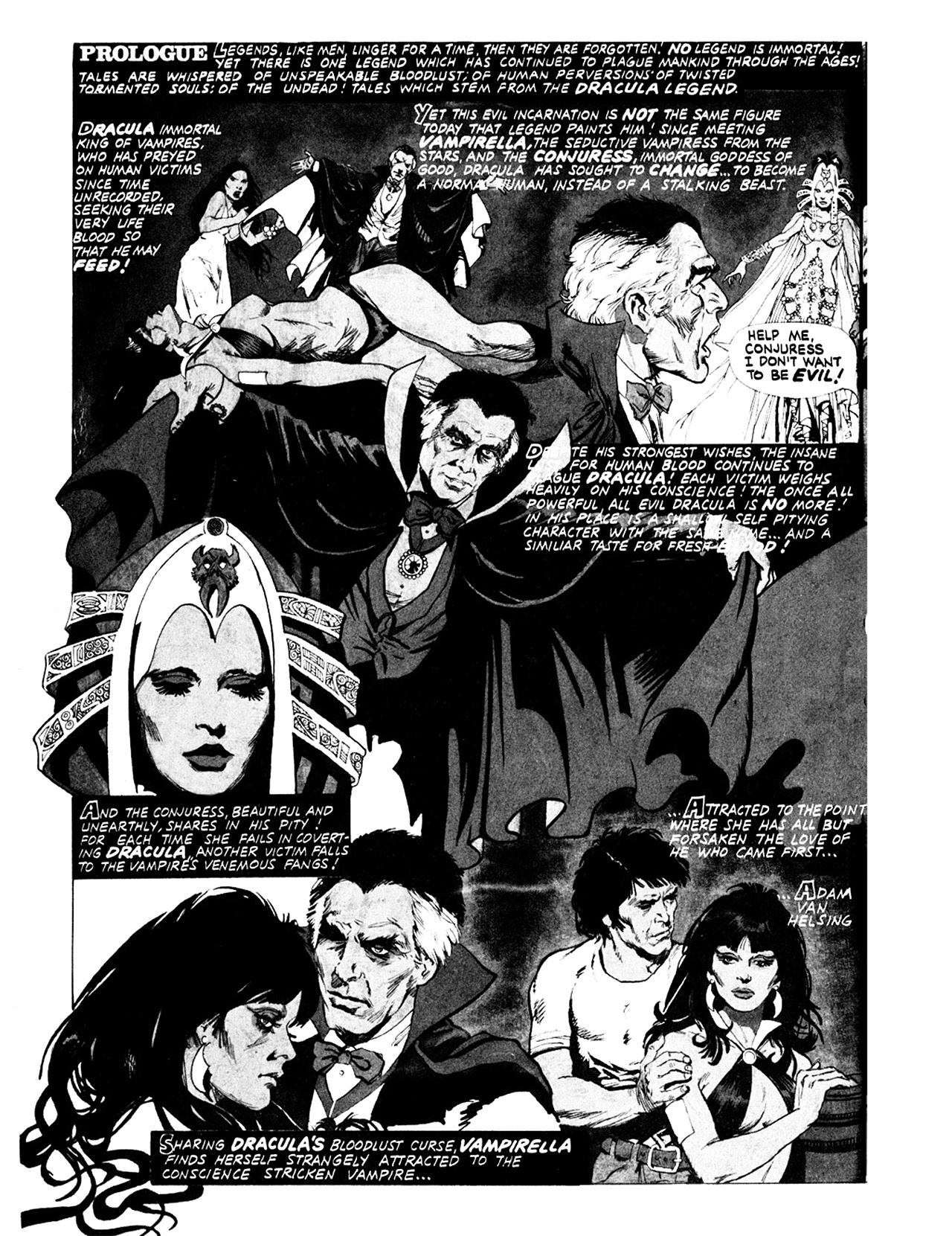 Read online Eerie Archives comic -  Issue # TPB 9 - 213